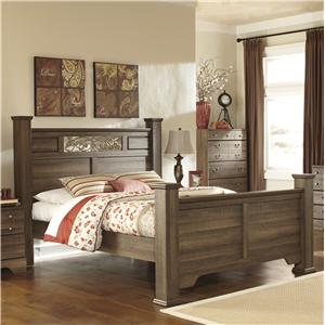 Signature Design by Ashley Allymore Queen Poster Bed