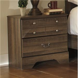 Signature Design by Ashley Allymore Two Drawer Night Stand