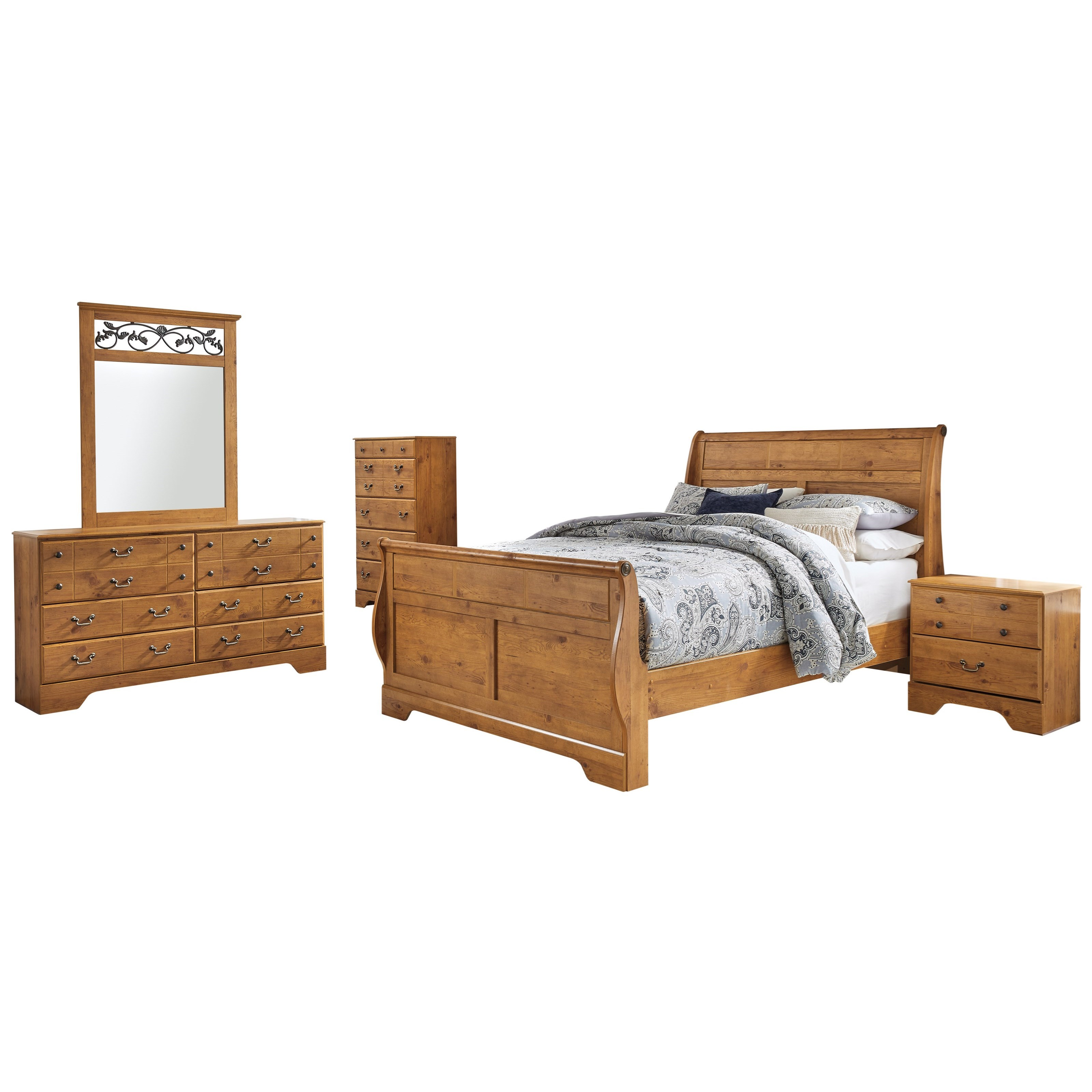 Bittersweet King Bedroom Group by Signature Design by Ashley at Houston's Yuma Furniture