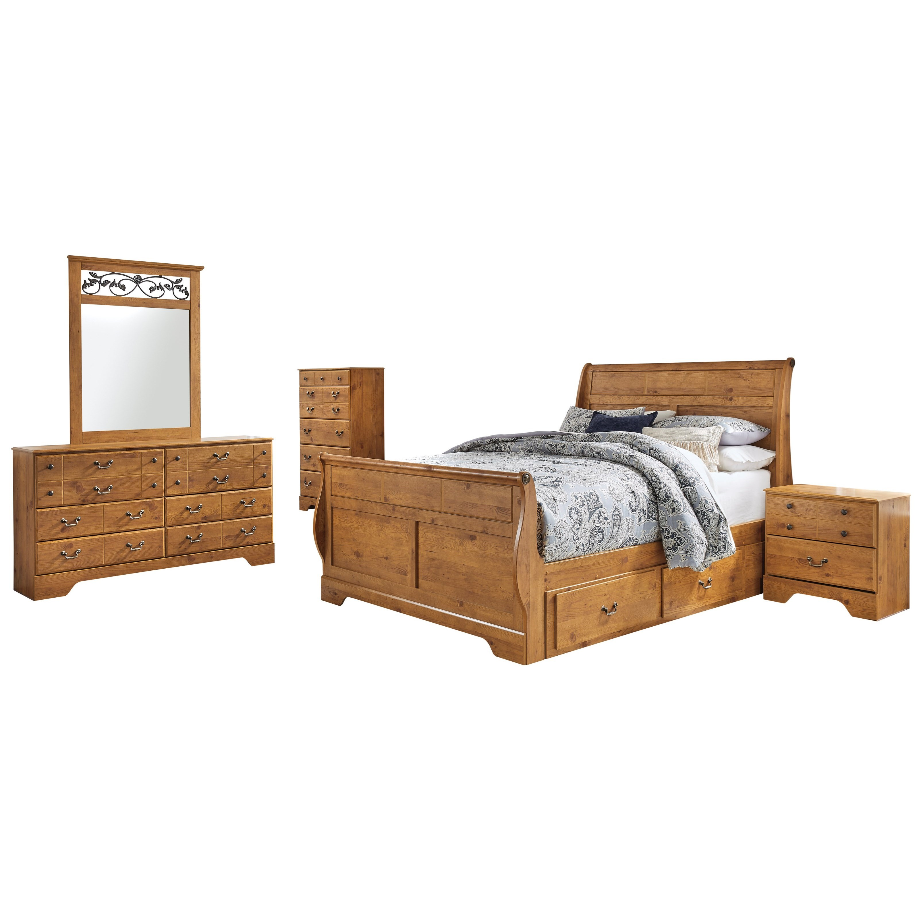 Bittersweet King Bedroom Group by Signature Design by Ashley at Zak's Warehouse Clearance Center