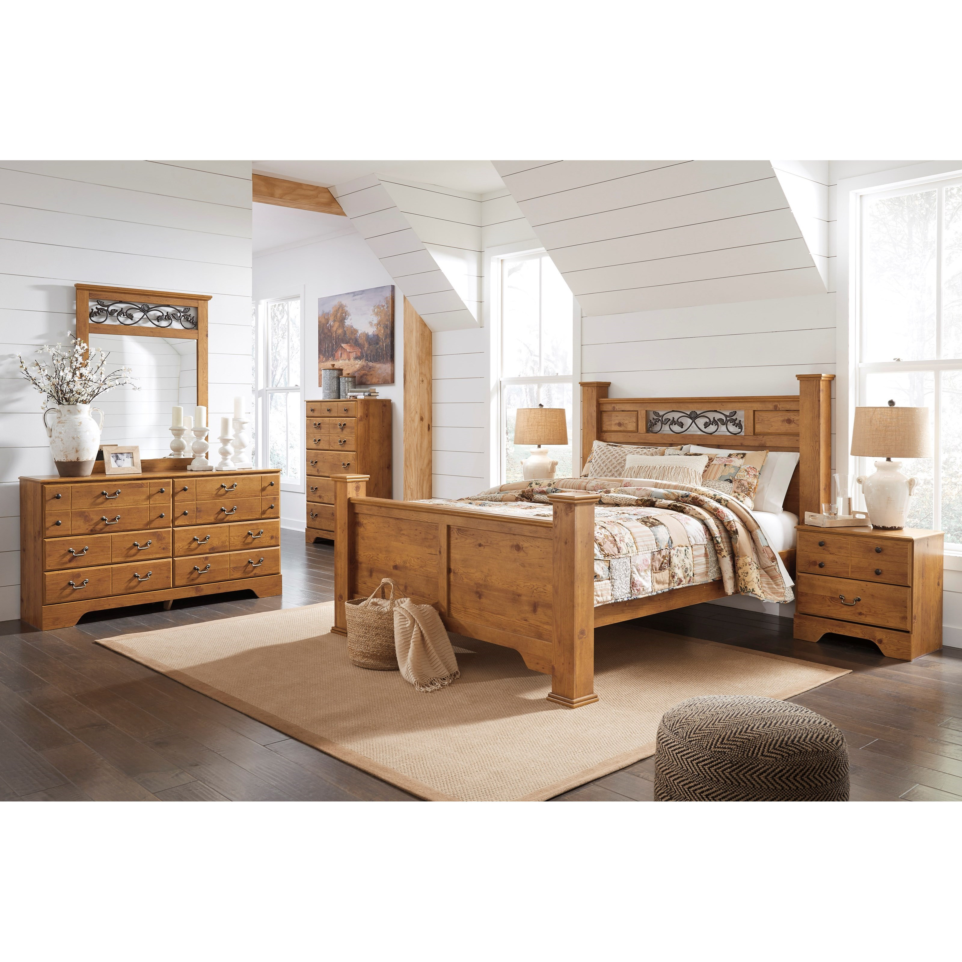 Bittersweet Queen Bedroom Group by Signature Design by Ashley at Zak's Warehouse Clearance Center