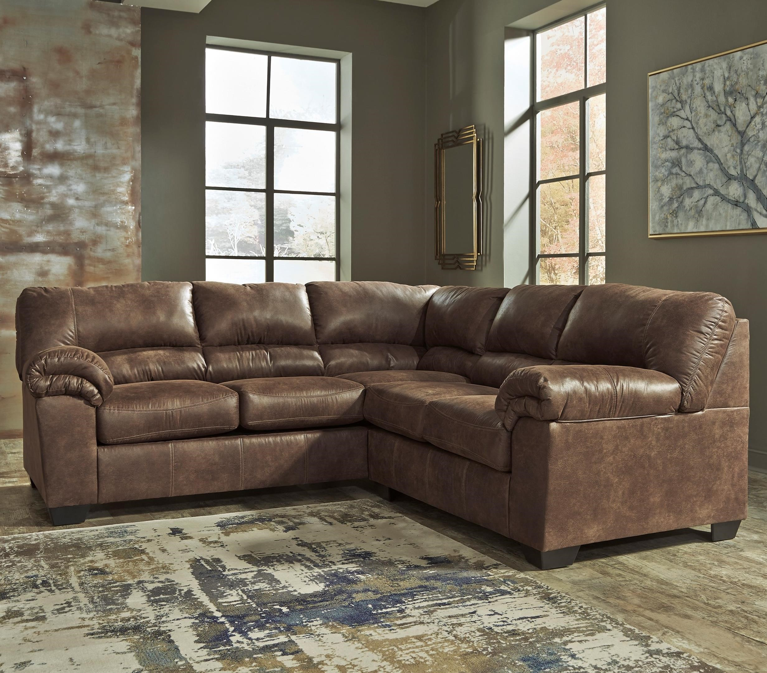 Bladen Two-Piece Sectional by Signature Design by Ashley at Northeast Factory Direct