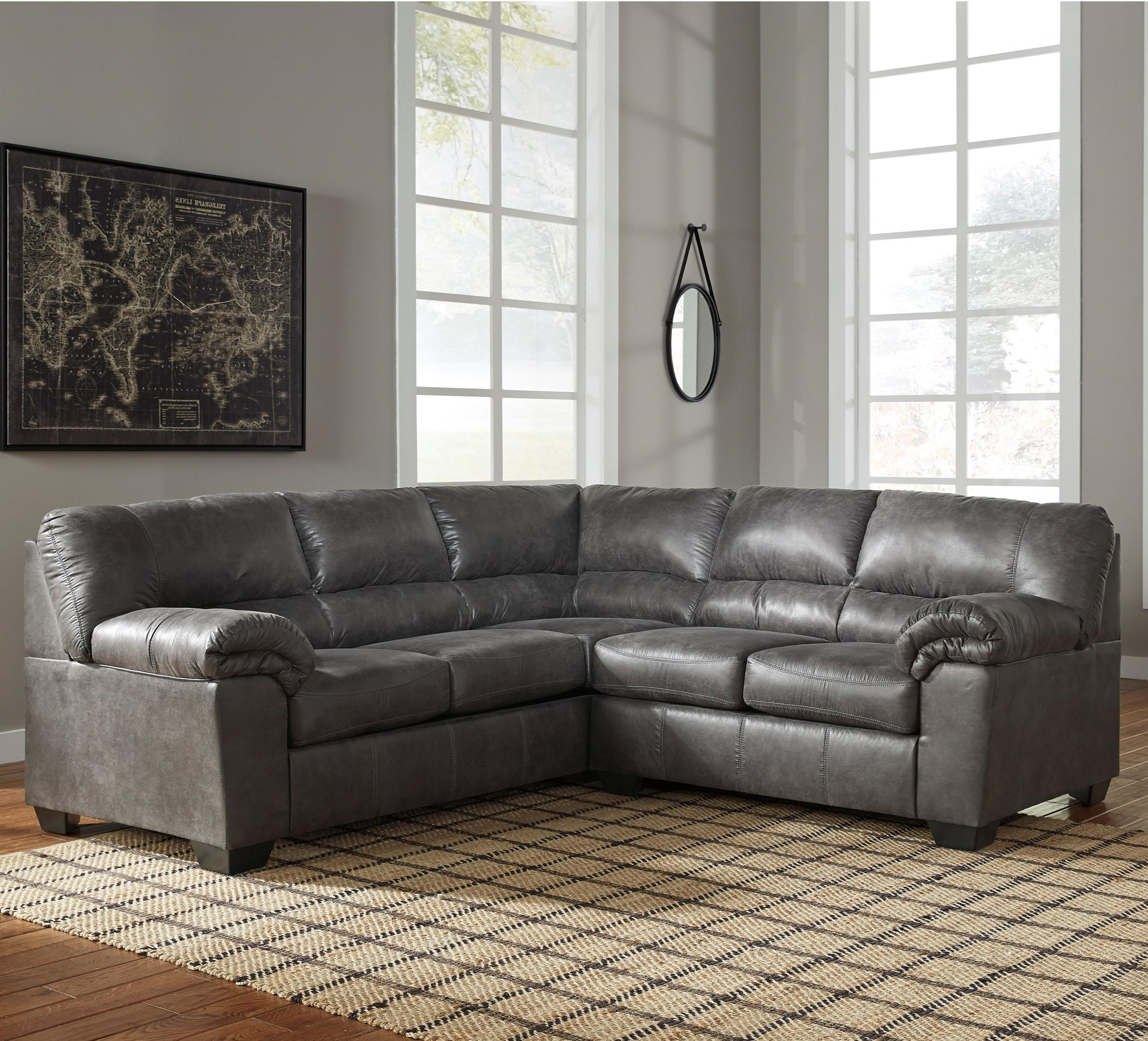 Bladen Two-Piece Sectional by Signature Design by Ashley at Zak's Warehouse Clearance Center