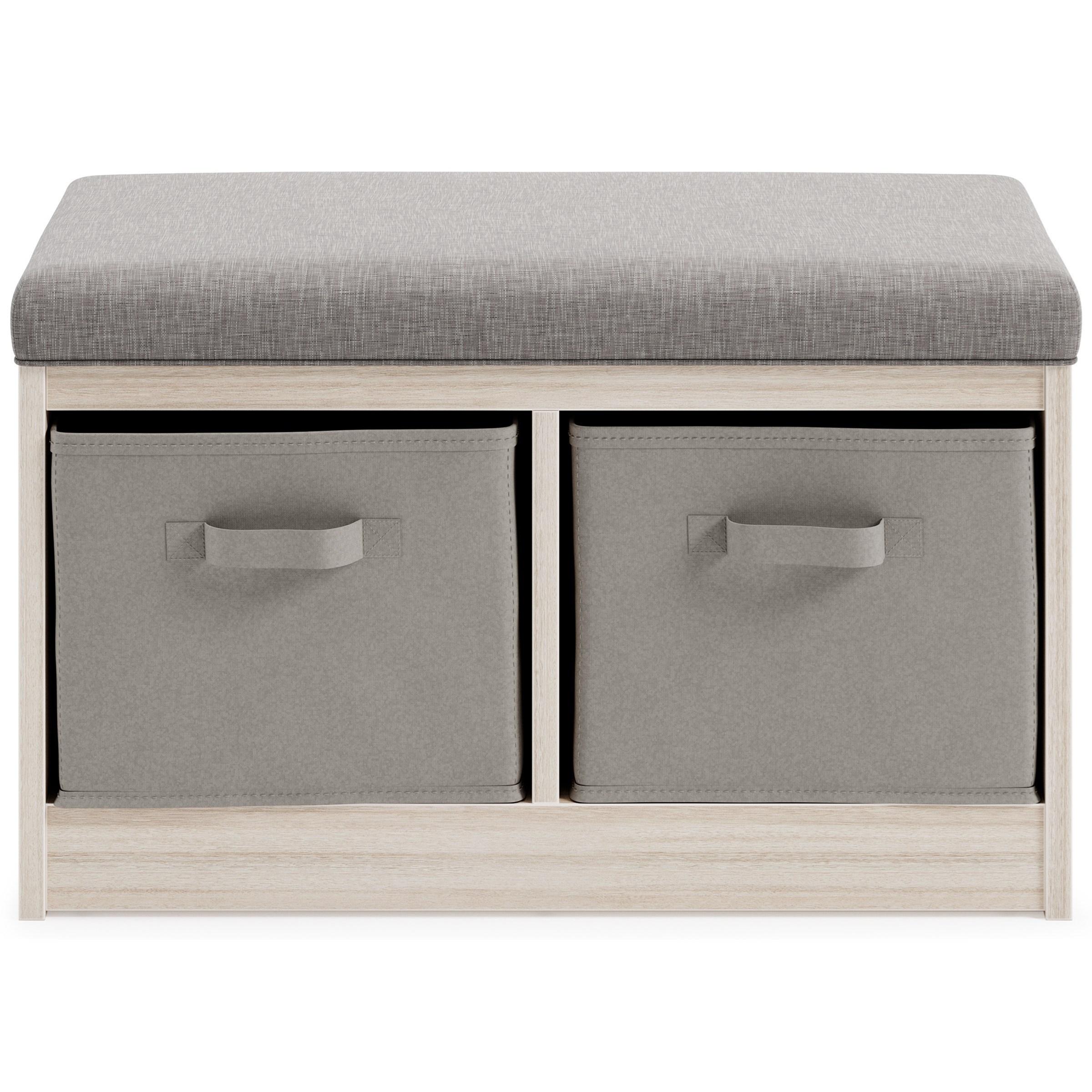 Blariden Storage Bench by StyleLine at EFO Furniture Outlet
