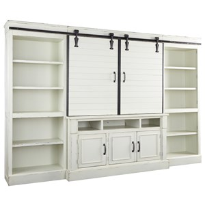Relaxed Vintage 4 Piece Wall Unit