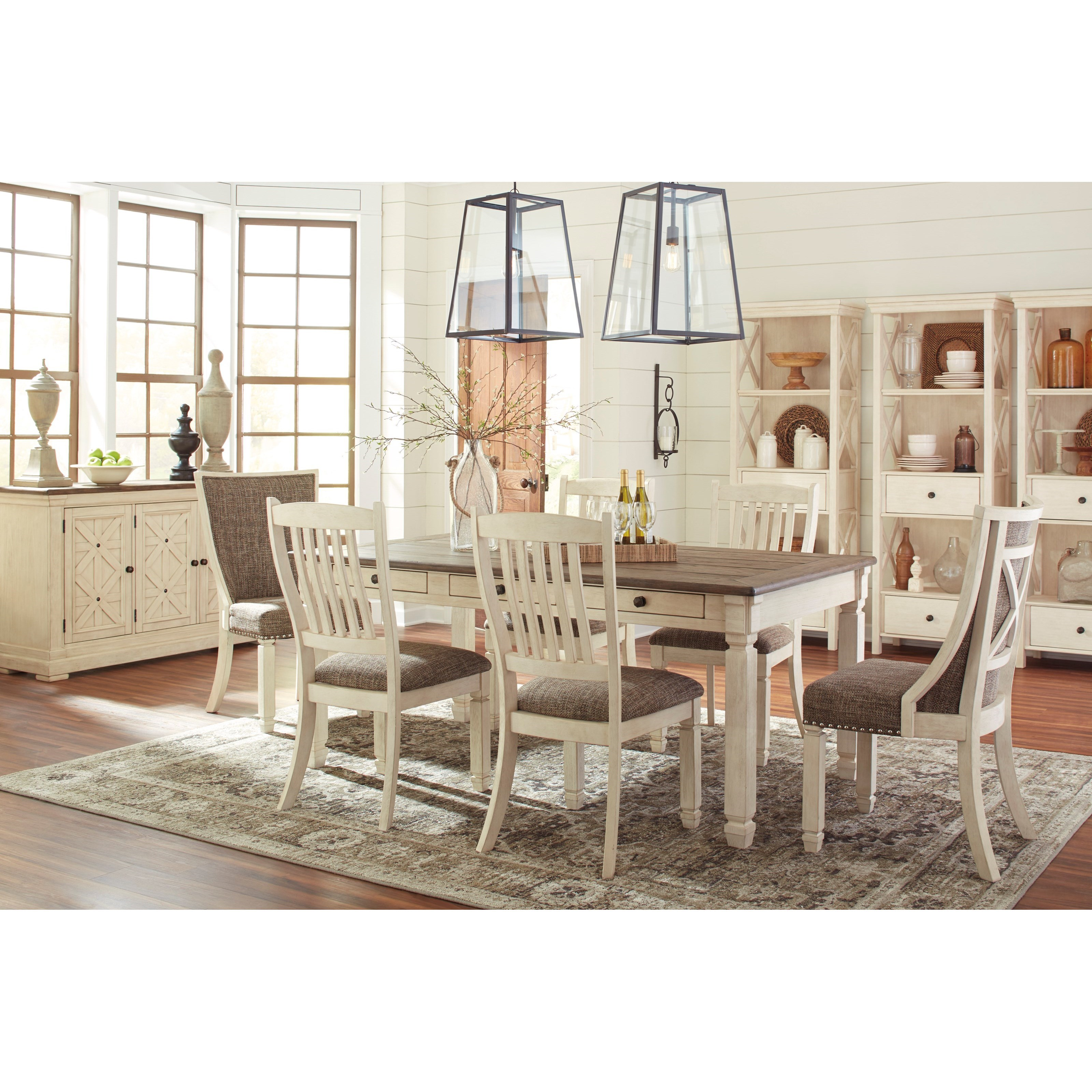 Bolanburg Formal Dining Room Group by Signature Design by Ashley at Sparks HomeStore