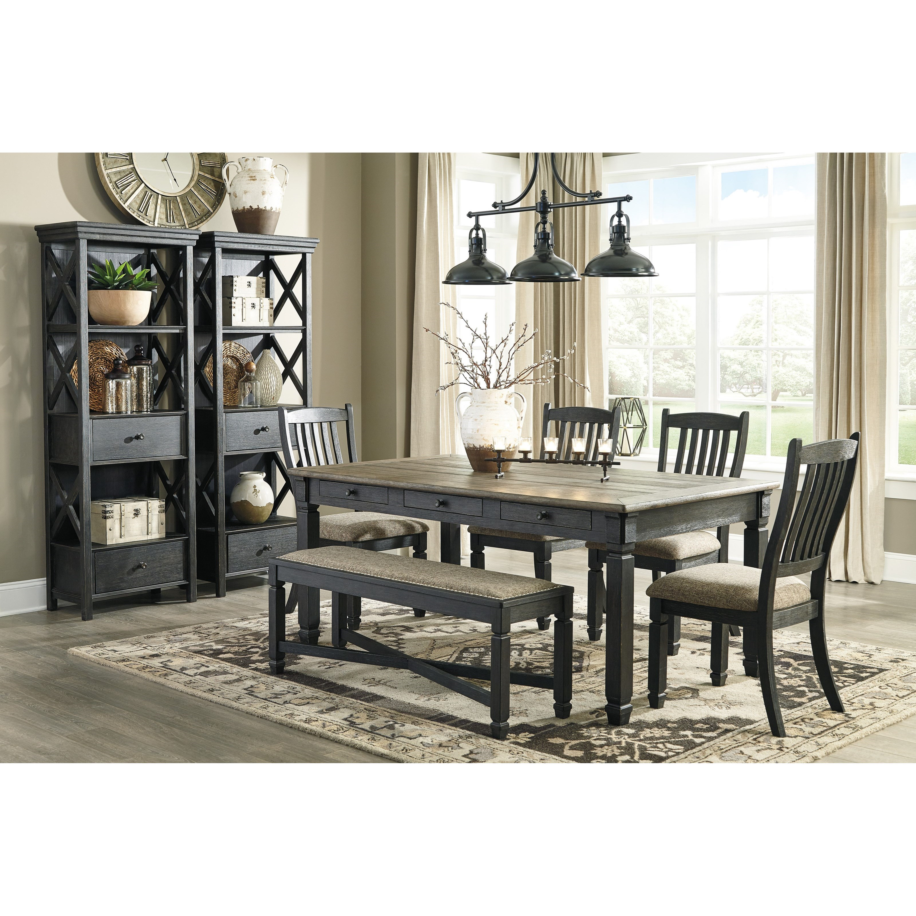 Tyler Creek Formal Dining Room Group by Signature Design by Ashley at Factory Direct Furniture