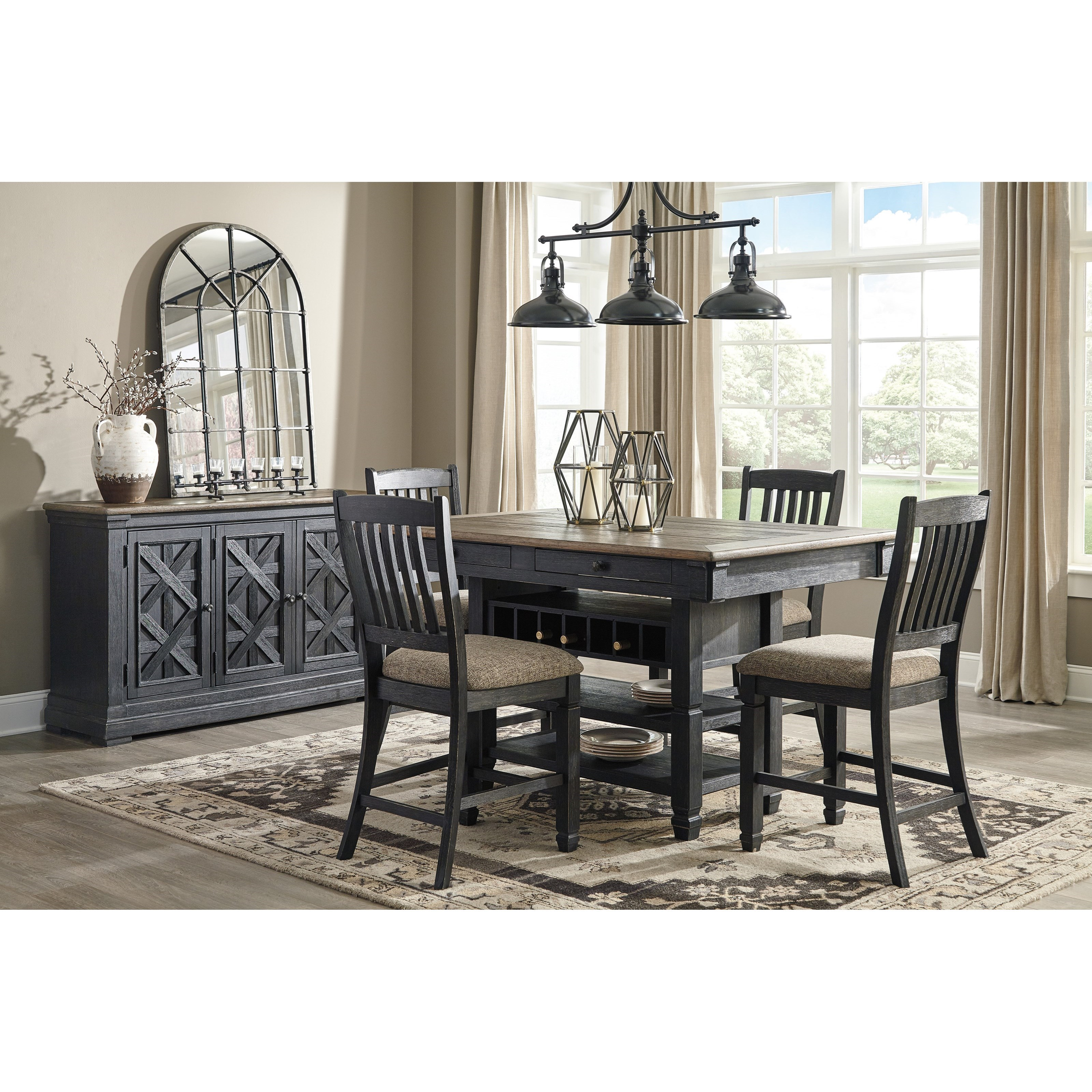 Tyler Creek Casual Dining Room Group by Signature Design by Ashley at Northeast Factory Direct