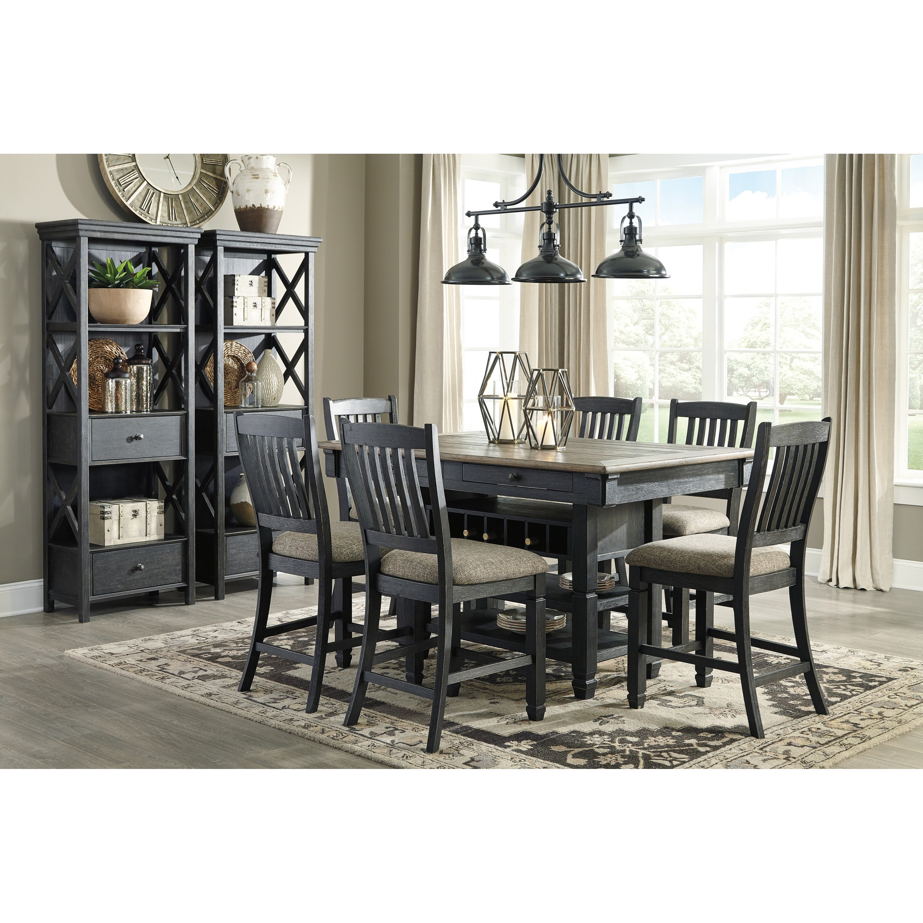Tyler Creek Formal Dining Room Group by Signature Design by Ashley at Northeast Factory Direct
