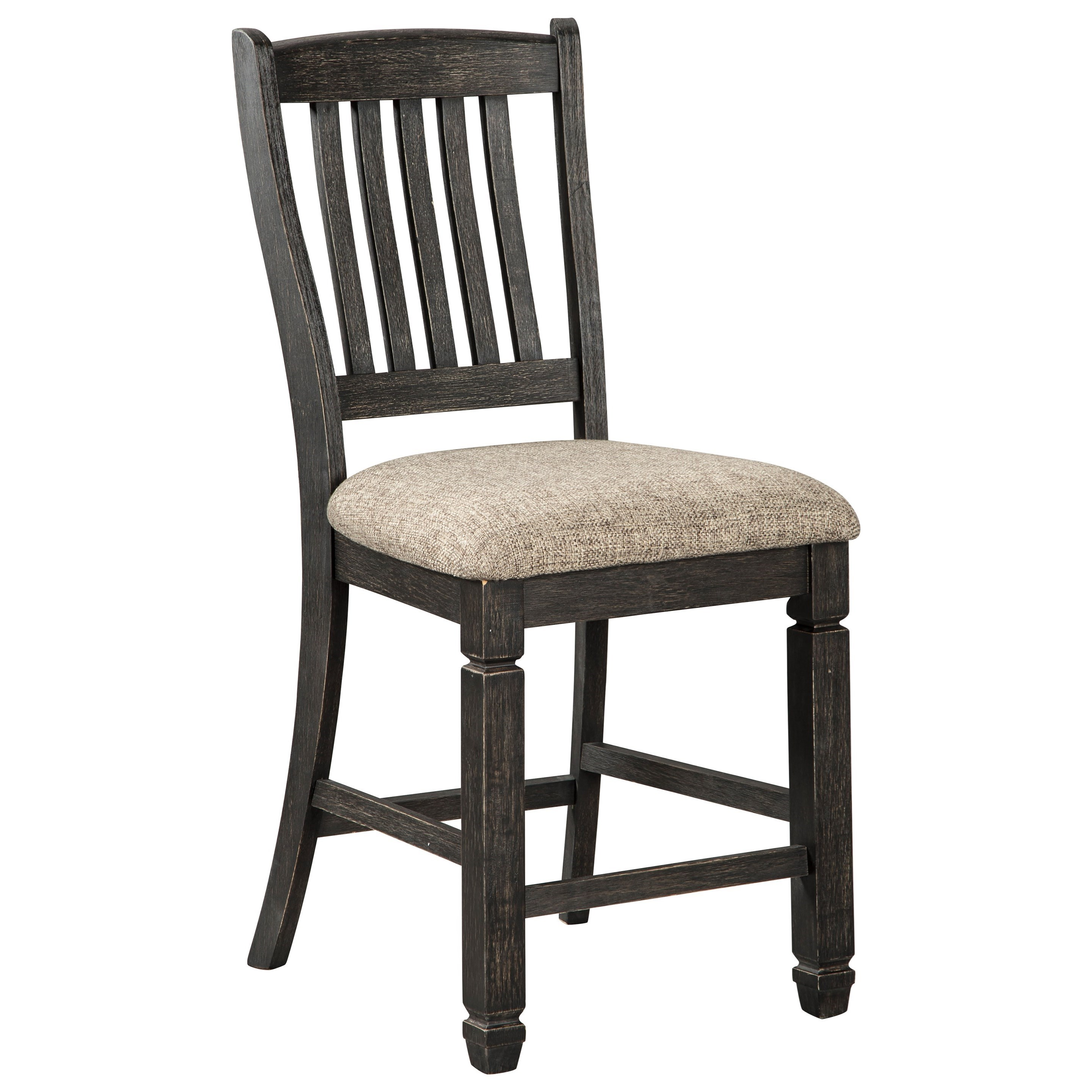 Tyler Creek Upholstered Bar Stool by Signature Design by Ashley at Beck's Furniture
