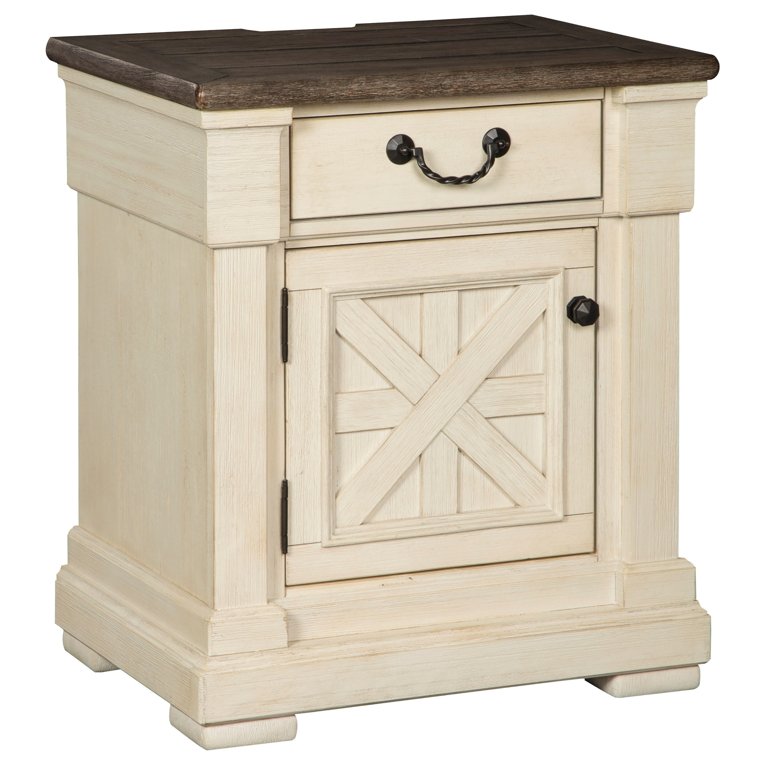 Bolanburg 1-Drawer Nightstand by Ashley (Signature Design) at Johnny Janosik