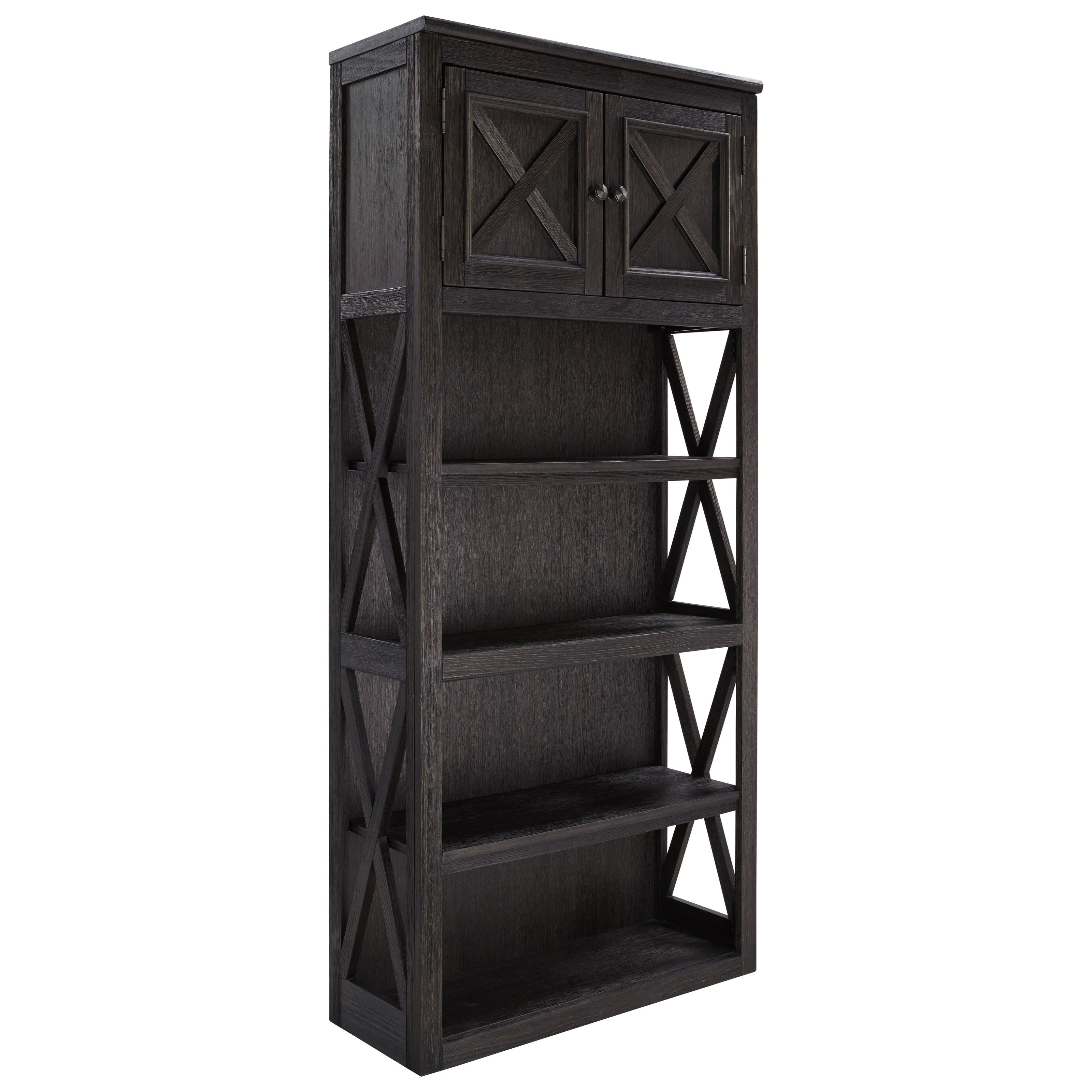 Tyler Creek Large Bookcase by Ashley (Signature Design) at Johnny Janosik