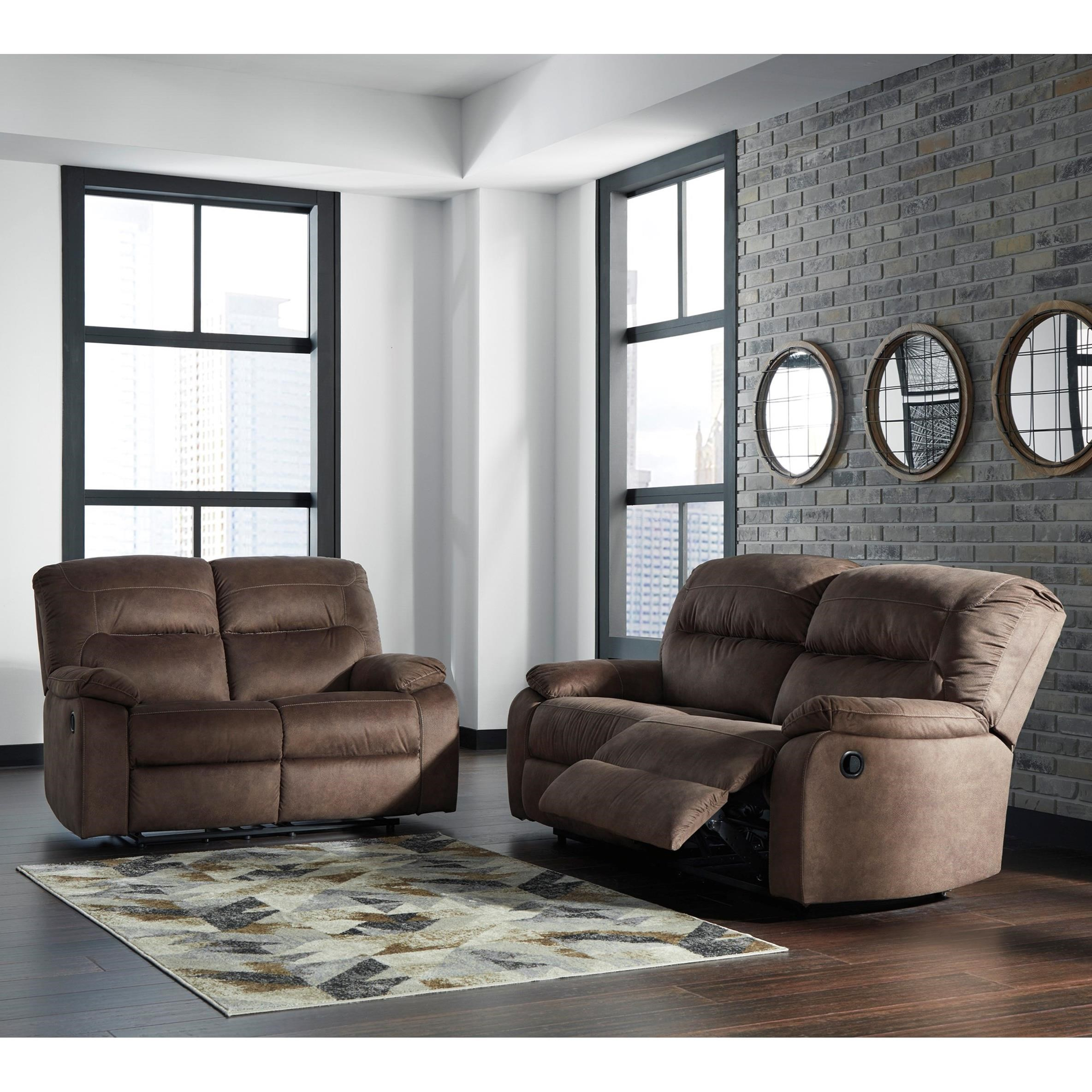 Bolzano Reclining Living Room Group by Signature Design by Ashley at Furniture Barn