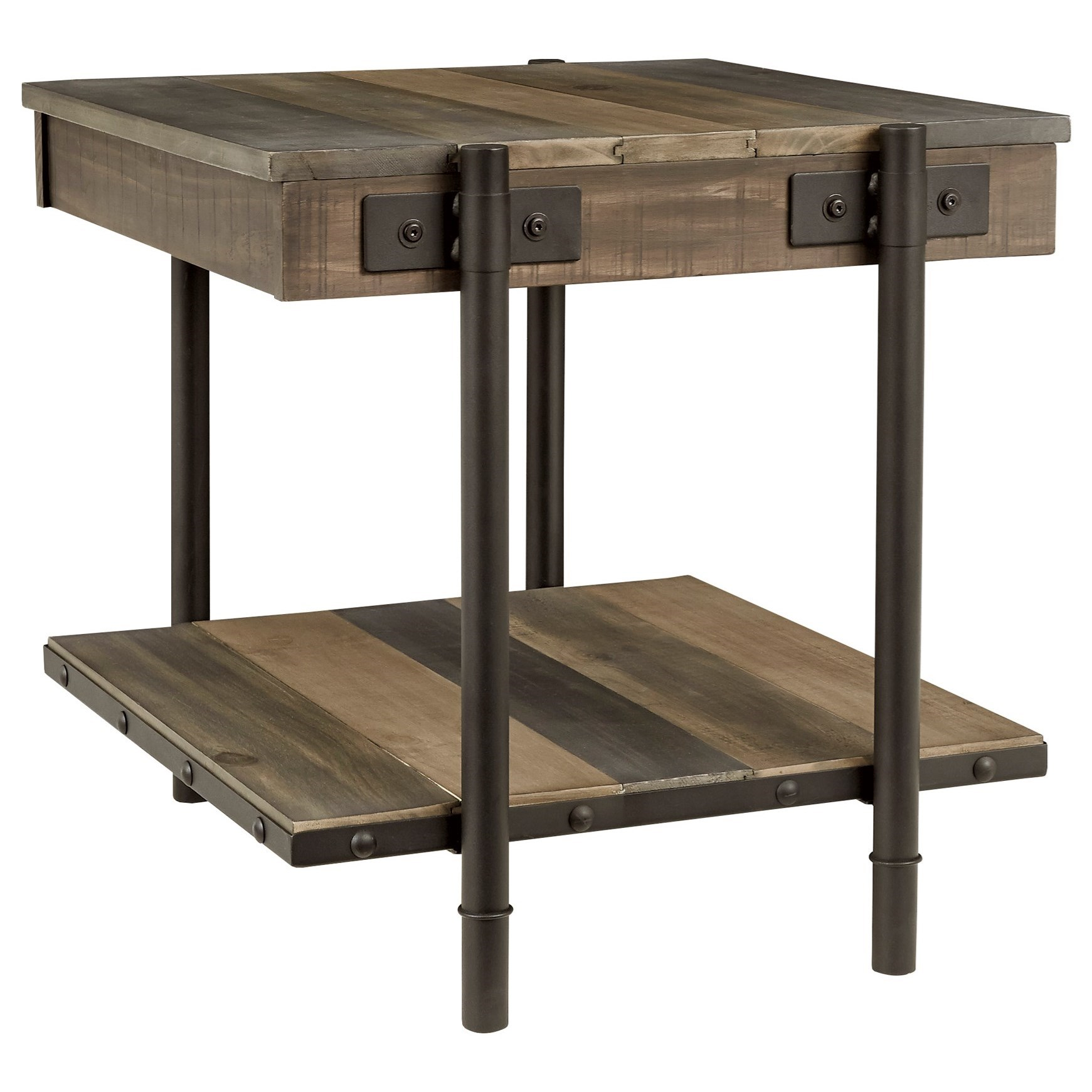 Bostweil Square End Table by Signature Design by Ashley at Beck's Furniture