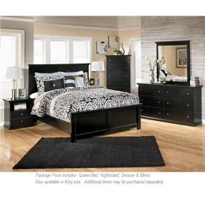 Signature Design by Ashley Maribel 4PC Queen Bedroom