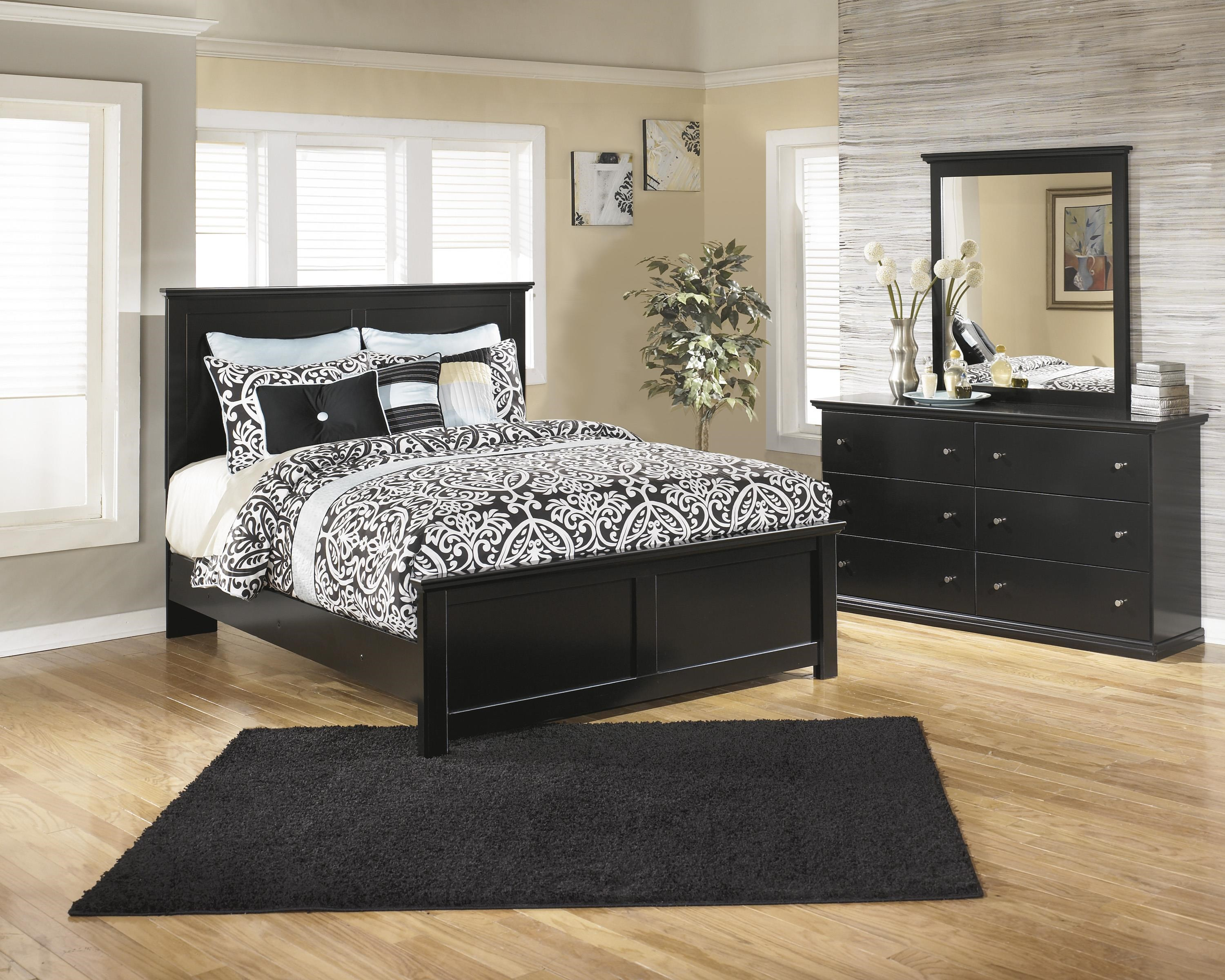 Maribel King Panel Bed, Dresser and Mirror Package by Signature Design by Ashley at Sam Levitz Furniture