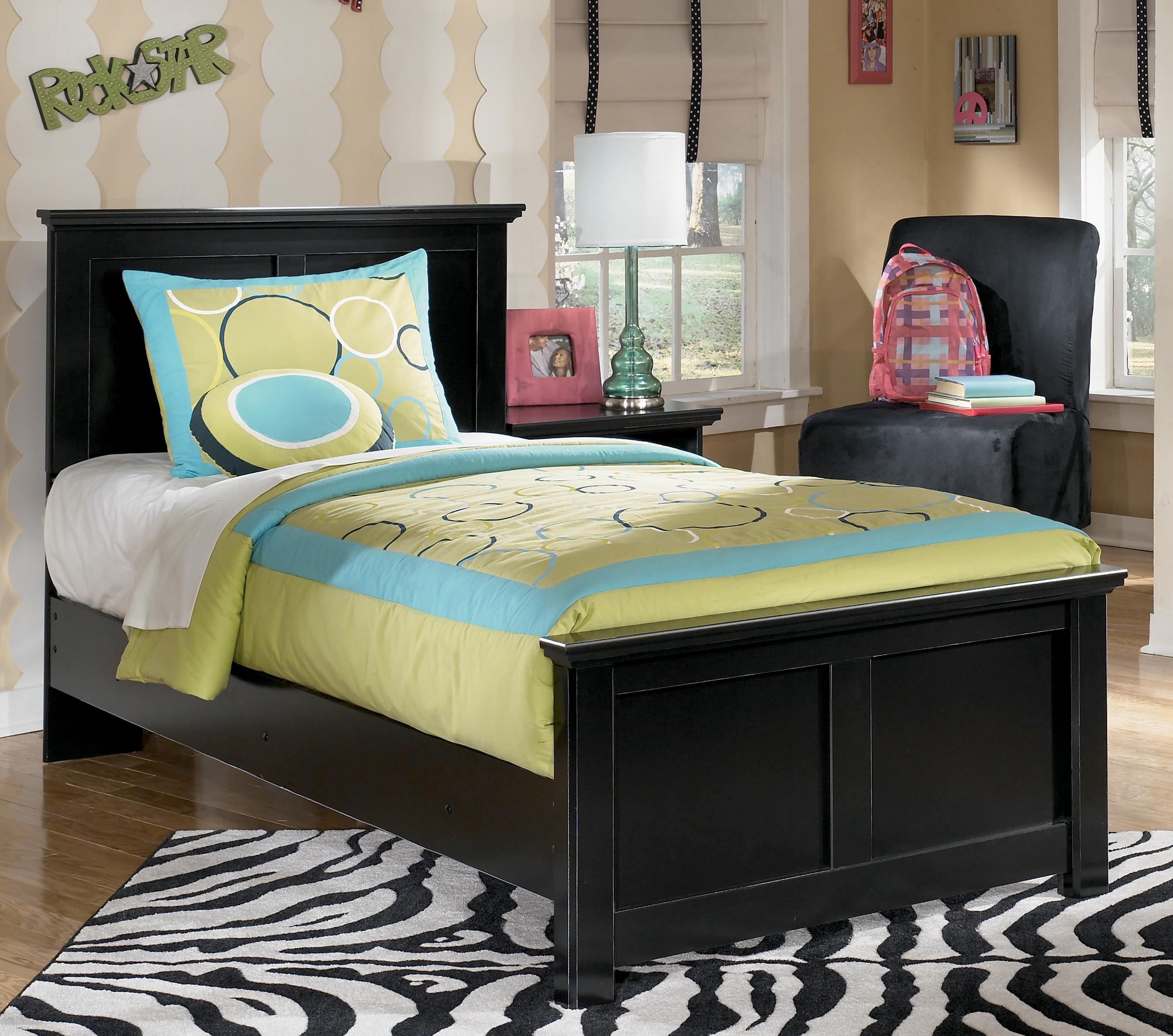 Maribel Twin Panel Bed by Signature Design by Ashley at Sparks HomeStore