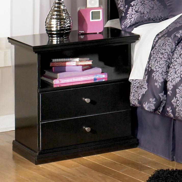 Maribel One Drawer Night Stand by Signature Design by Ashley at Miller Waldrop Furniture and Decor