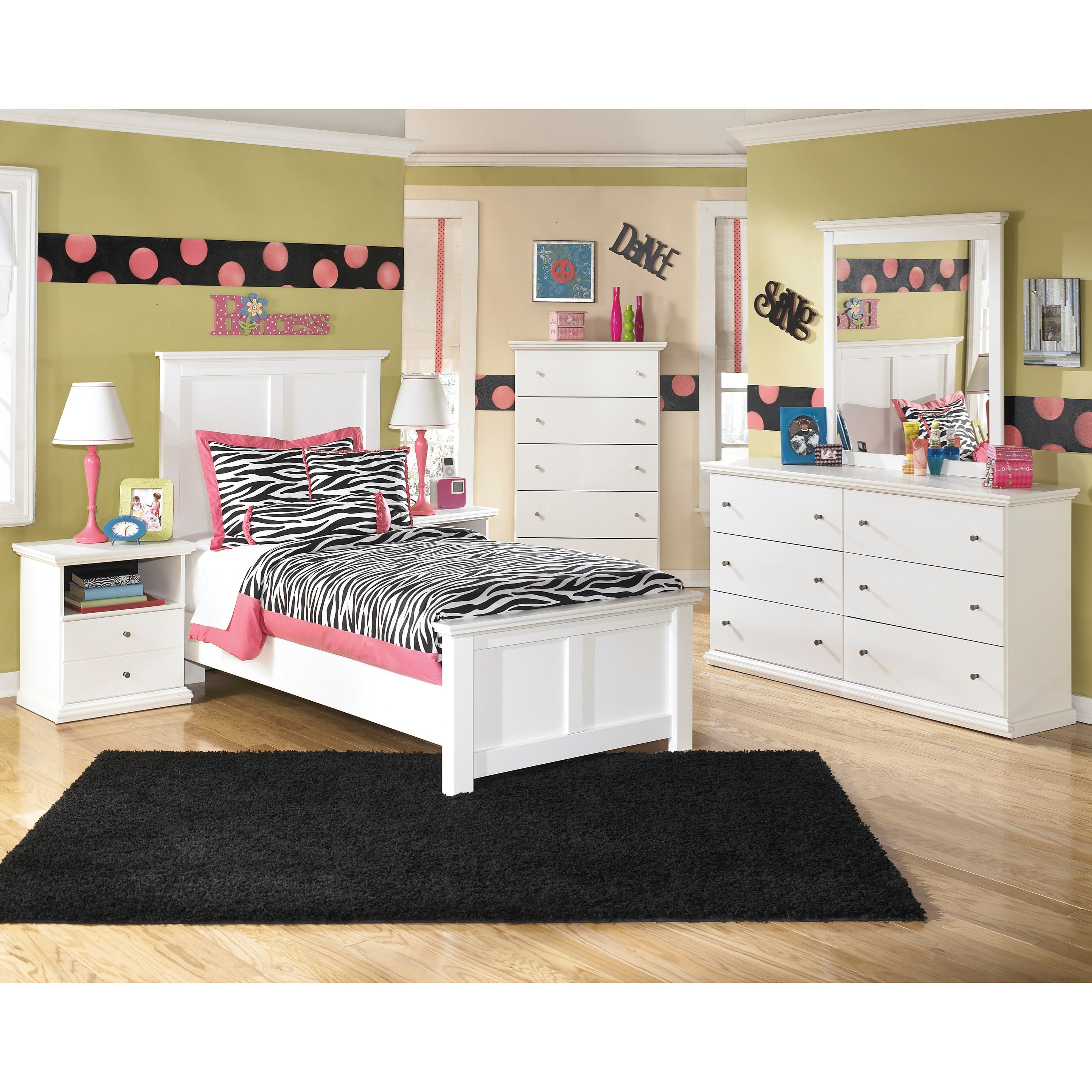 Bostwick Shoals Twin Bedroom Group by Ashley (Signature Design) at Johnny Janosik