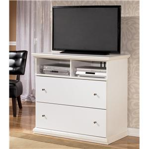 Signature Design by Ashley Furniture Bostwick Shoals 2-Drawer Media Chest