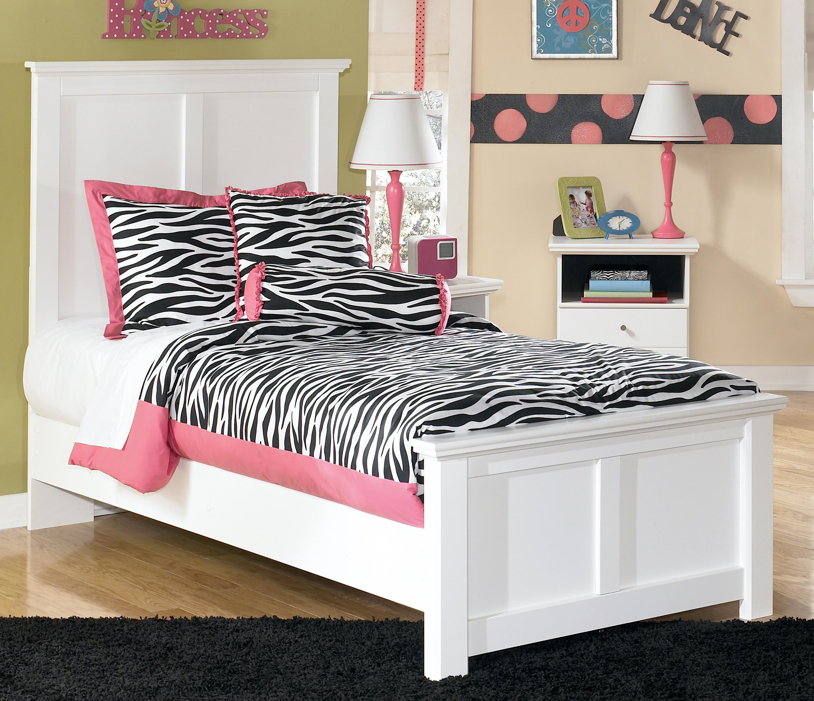 Bostwick Shoals Twin Panel Bed by Signature Design by Ashley at Zak's Warehouse Clearance Center