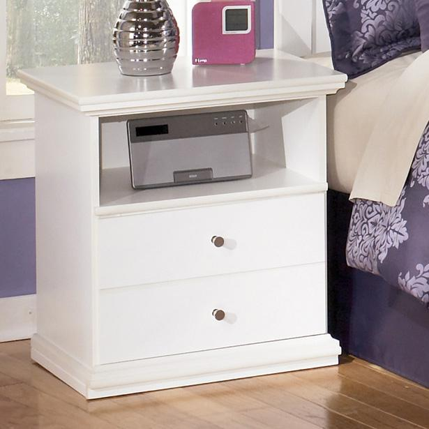 Bostwick Shoals One Drawer Night Stand by Signature Design by Ashley at Zak's Warehouse Clearance Center