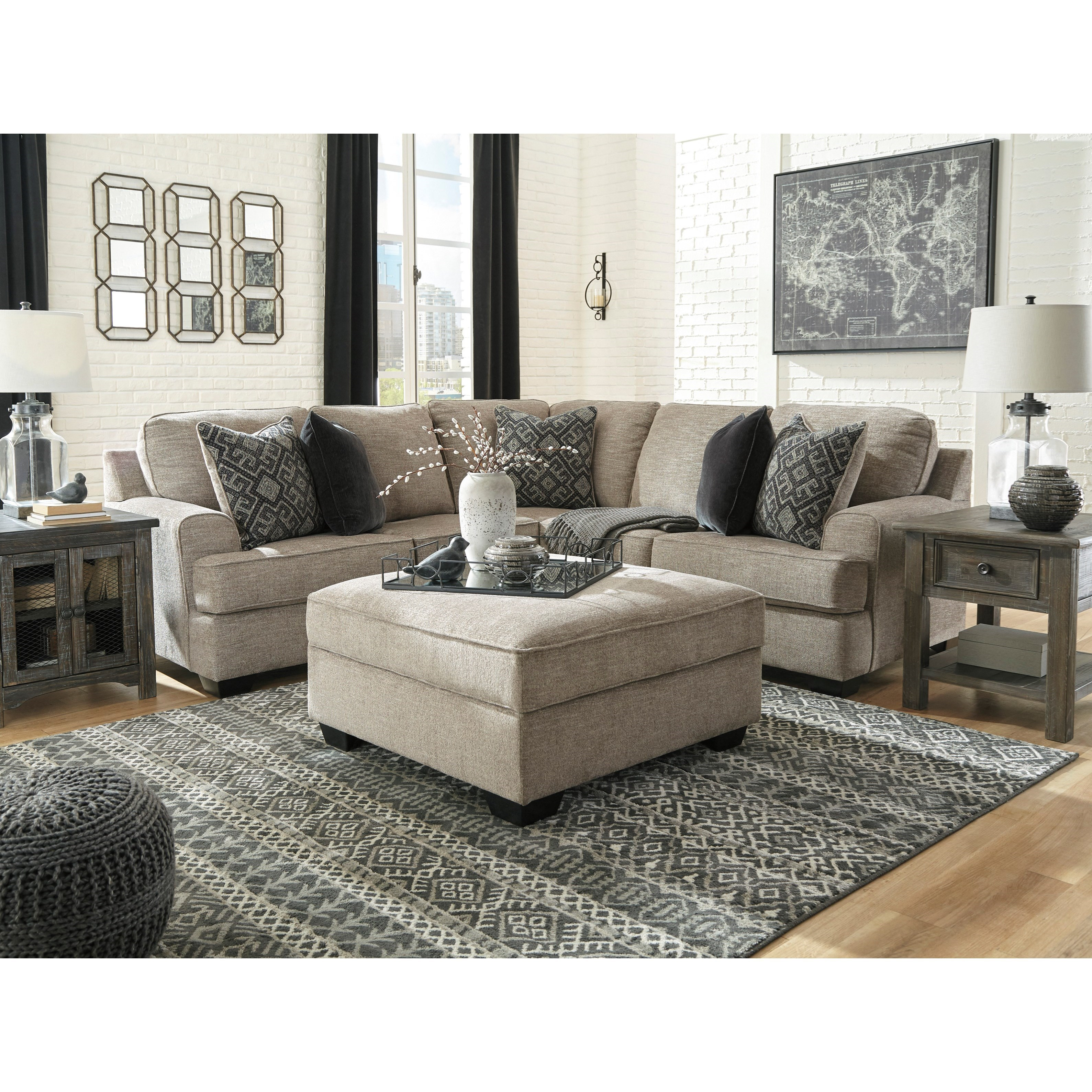 Bovarian Stationary Living Room Group by Signature Design by Ashley at Catalog Outlet