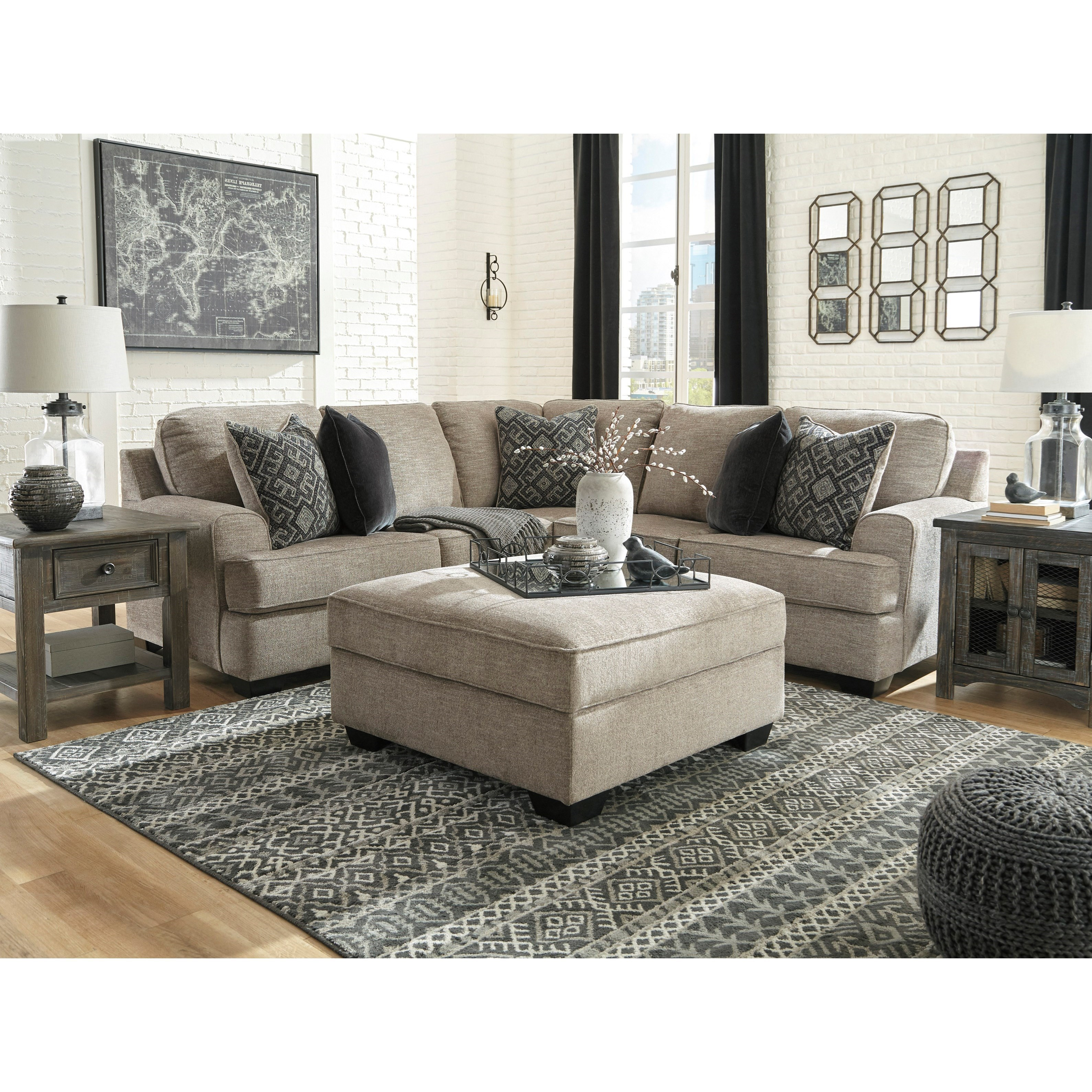 Bovarian Stationary Living Room Group by Ashley (Signature Design) at Johnny Janosik