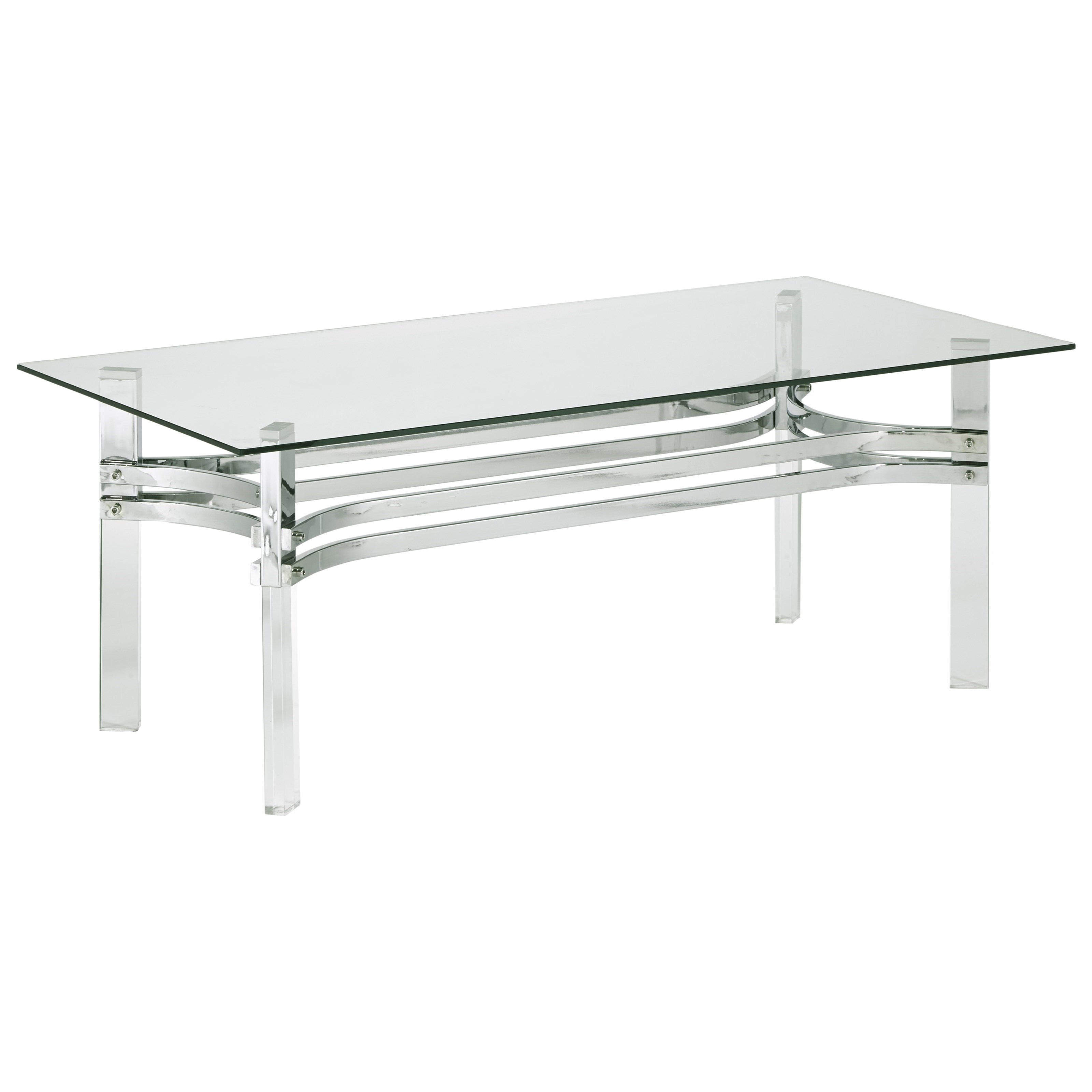 Braddoni Rectangular Cocktail Table by Ashley (Signature Design) at Johnny Janosik
