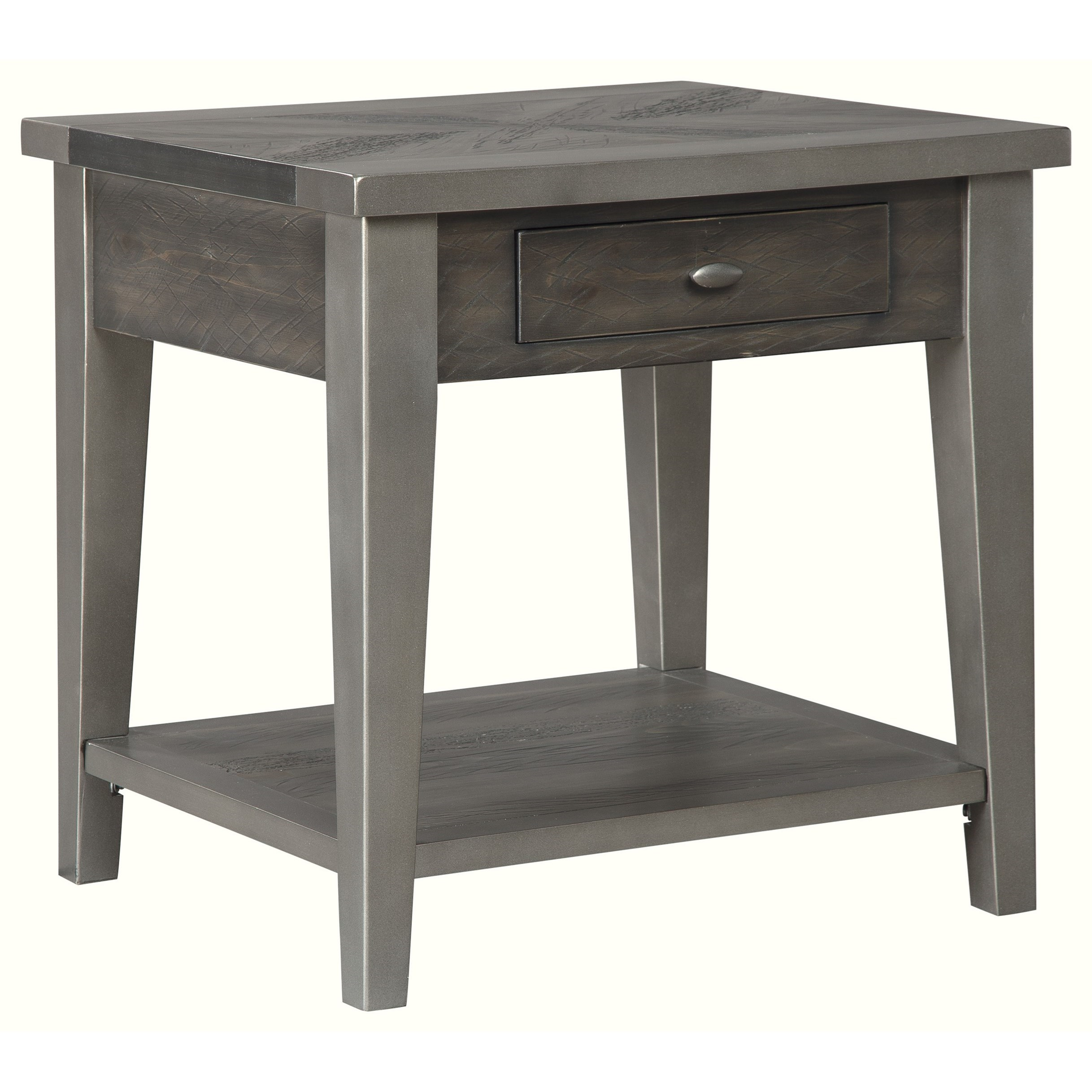 Branbury End Table by Signature Design by Ashley at HomeWorld Furniture