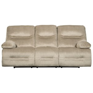 Contemporary Reclining Power Sofa
