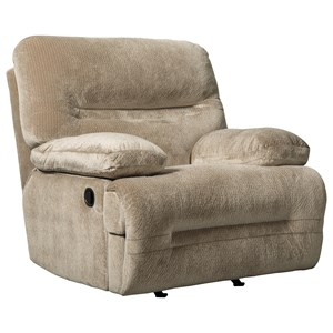 Contemprary Power Rocker Recliner