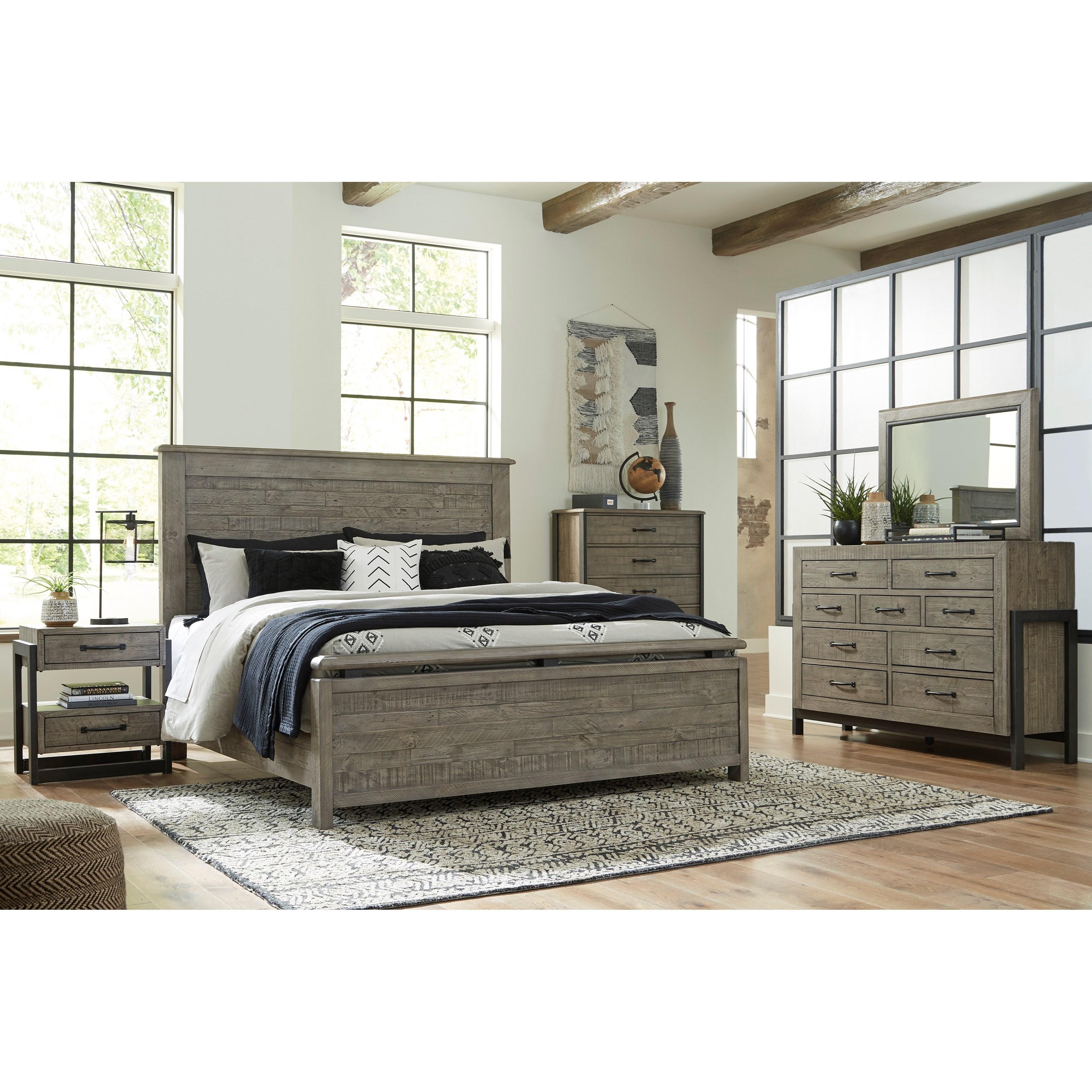 Brennagan California King Bedroom Group by Ashley (Signature Design) at Johnny Janosik