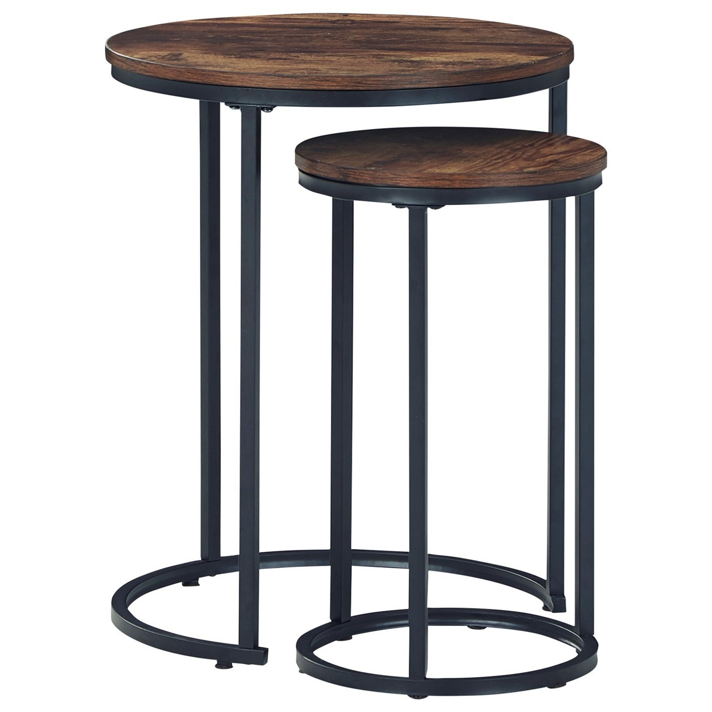 Briarsboro 2-Piece Accent Table Set by Signature Design by Ashley at Zak's Home Outlet