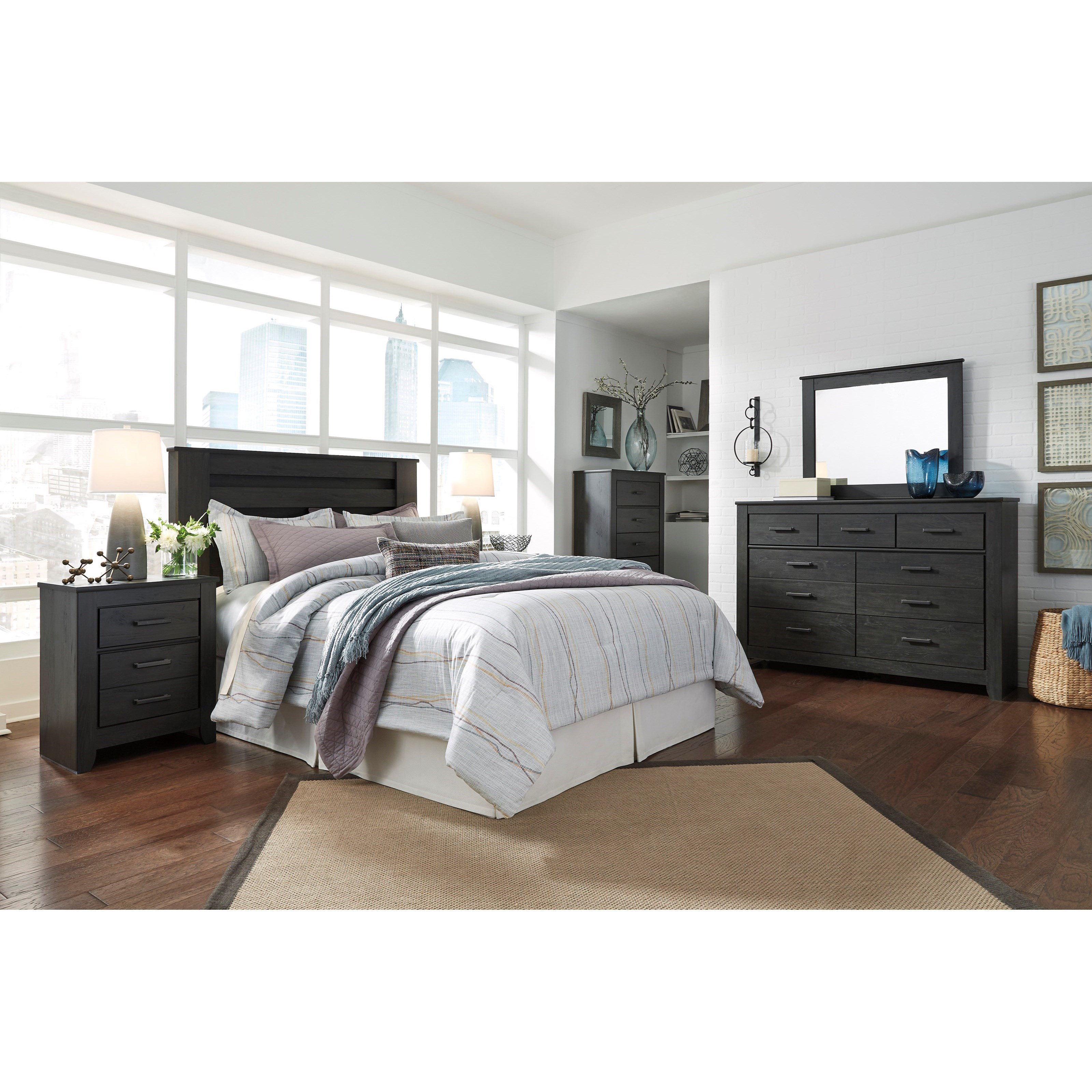 Brinxton King/California King Bedroom Group by Signature Design by Ashley at Northeast Factory Direct