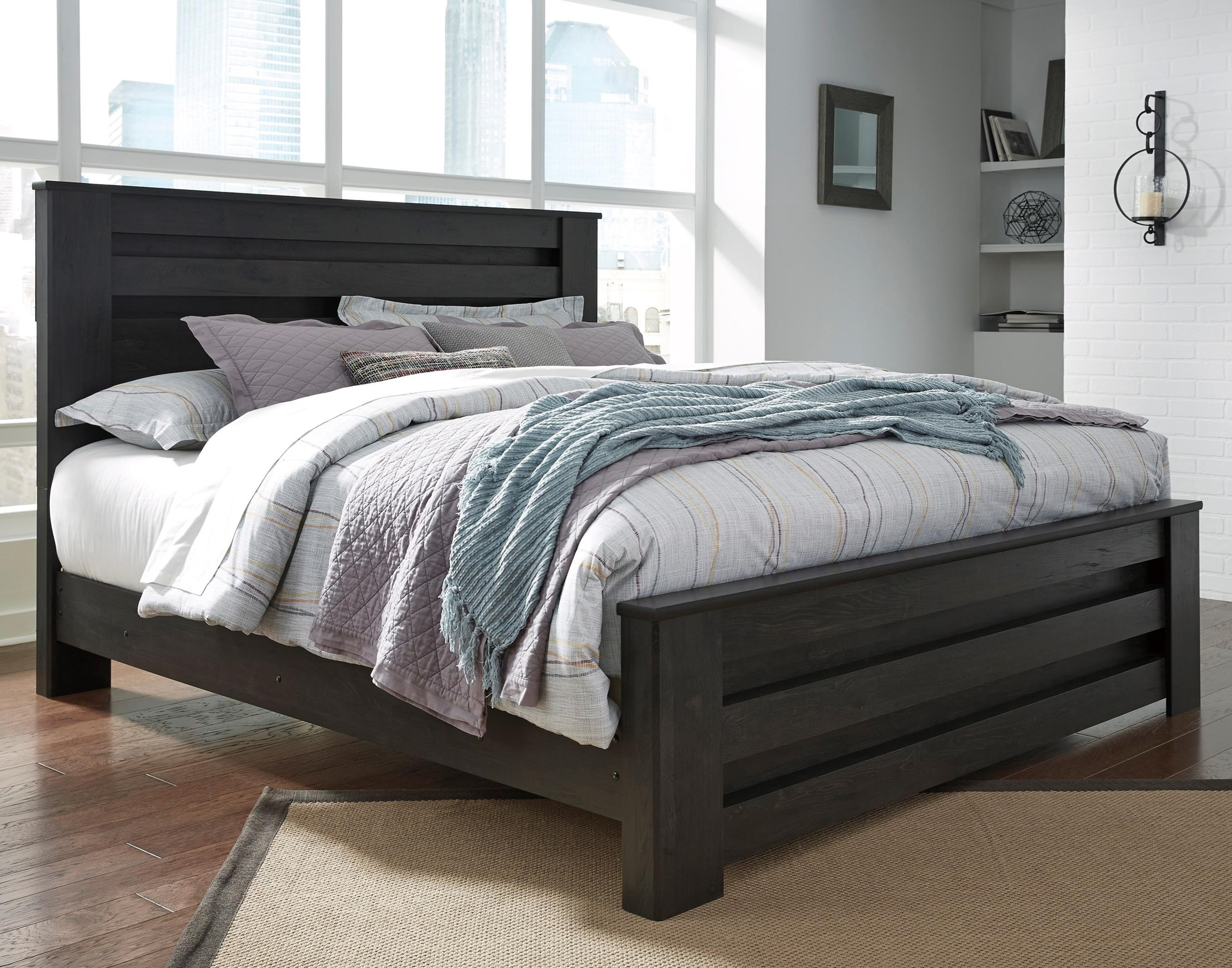 Brinxton King Panel Bed by Signature Design by Ashley at Northeast Factory Direct