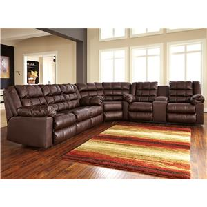 Signature Design by Ashley Brolayne DuraBlend® 3-Piece Reclining Sectional