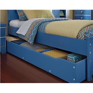 Signature Design by Ashley Bronilly Trundle Under Bed Storage