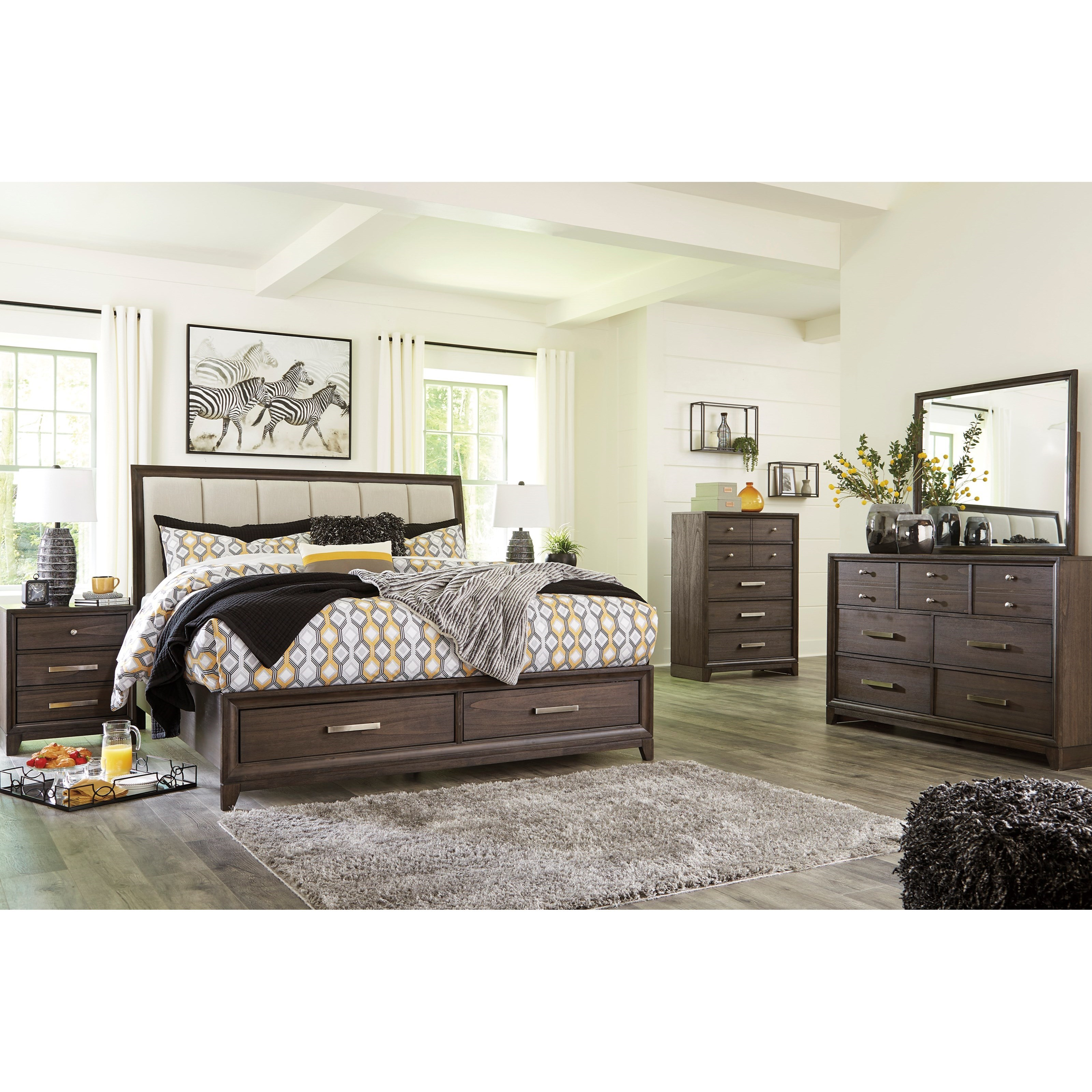 Brueban King Bedroom Group by Signature Design by Ashley at Northeast Factory Direct