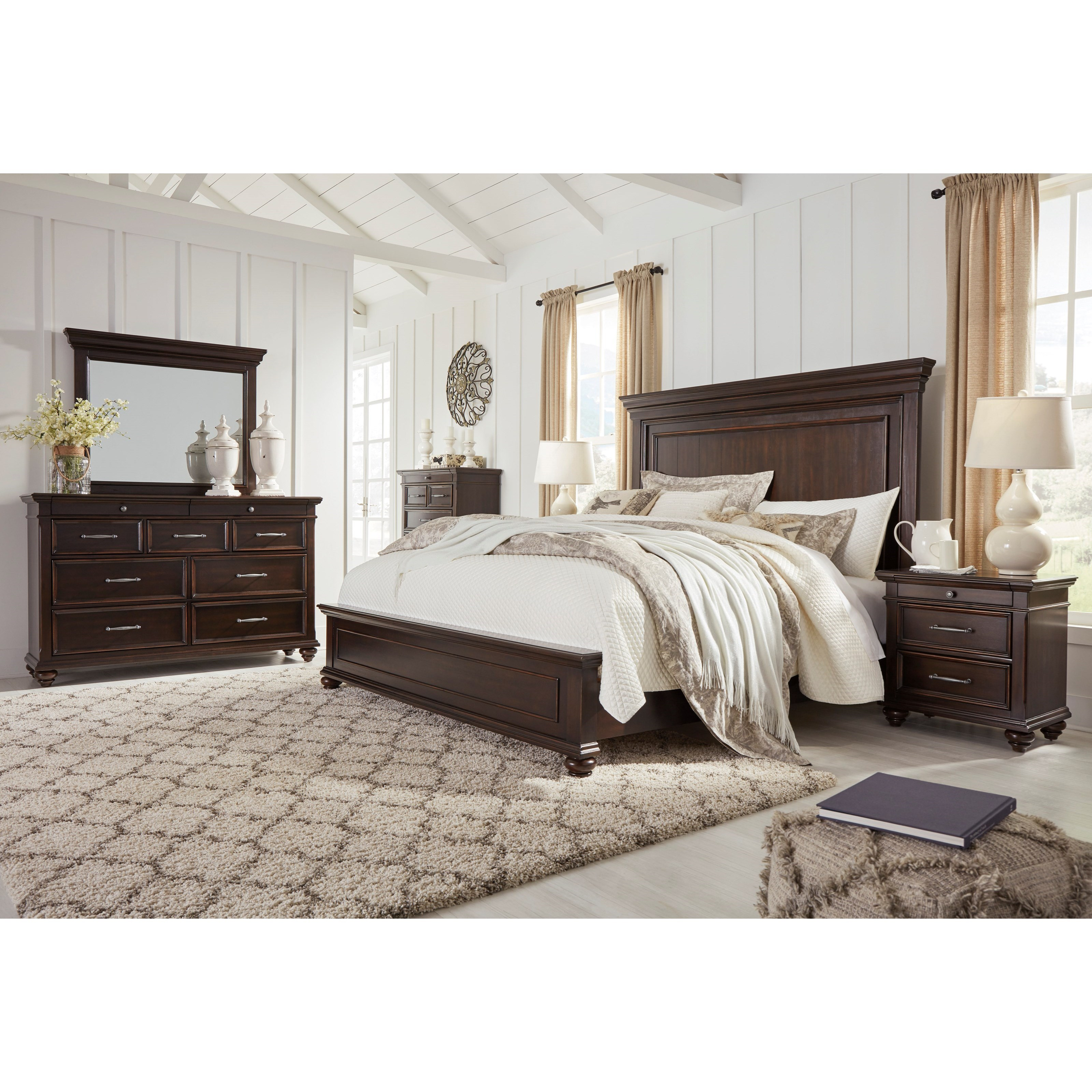 Brynhurst California King Bedroom Group by Signature Design by Ashley at Household Furniture