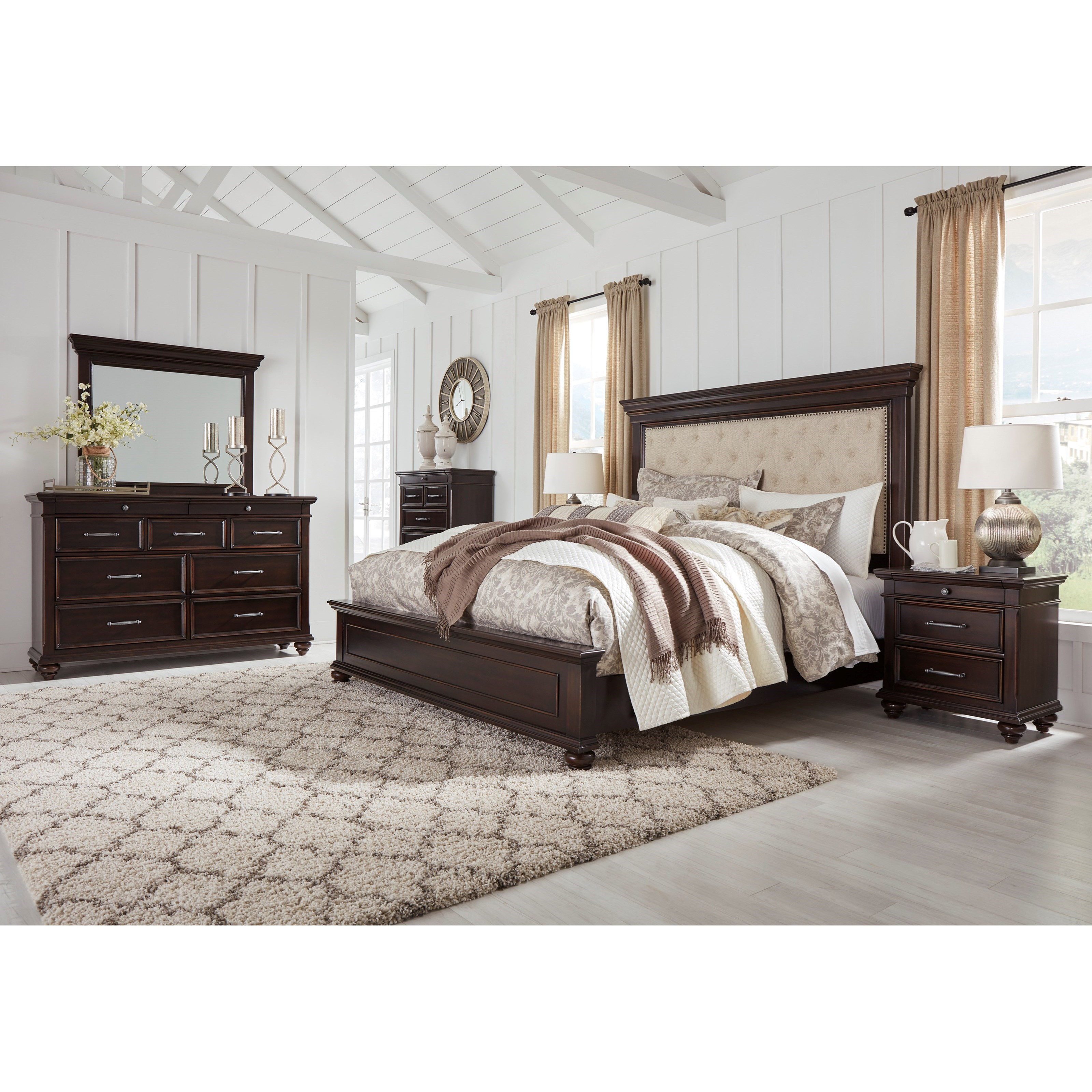 Brynhurst King Bedroom Group by Signature Design by Ashley at Northeast Factory Direct