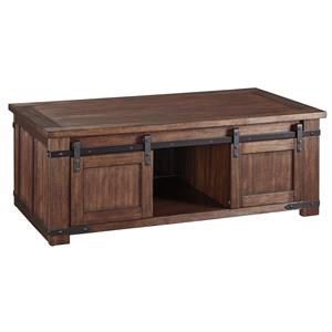 Rectangular Cocktail Table and 2 Rectangular End Tables Set