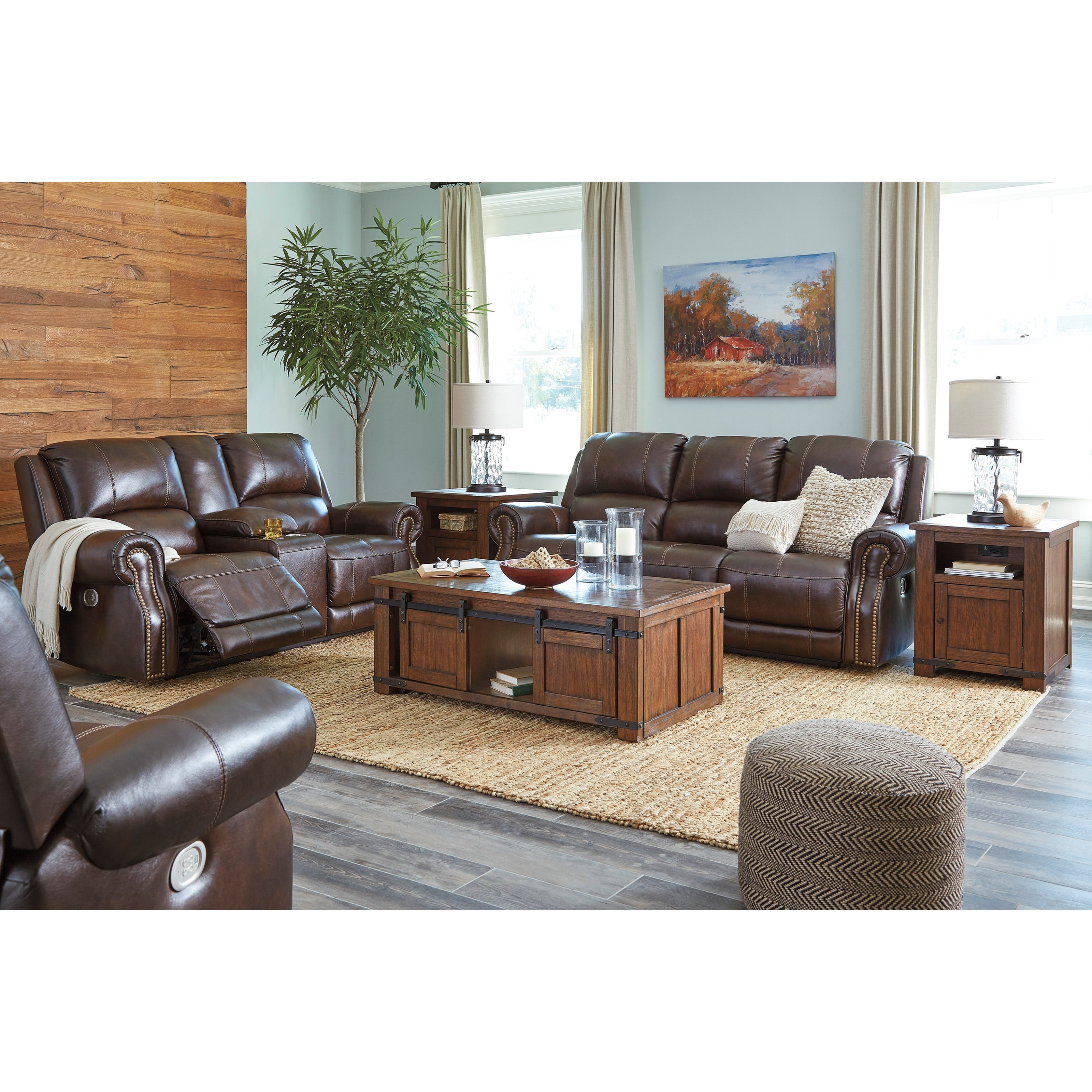 Buncrana Reclining Living Room Group by Signature Design by Ashley at Northeast Factory Direct