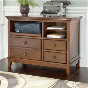 Signature Design by Ashley Burkesville Home Office Cabinet