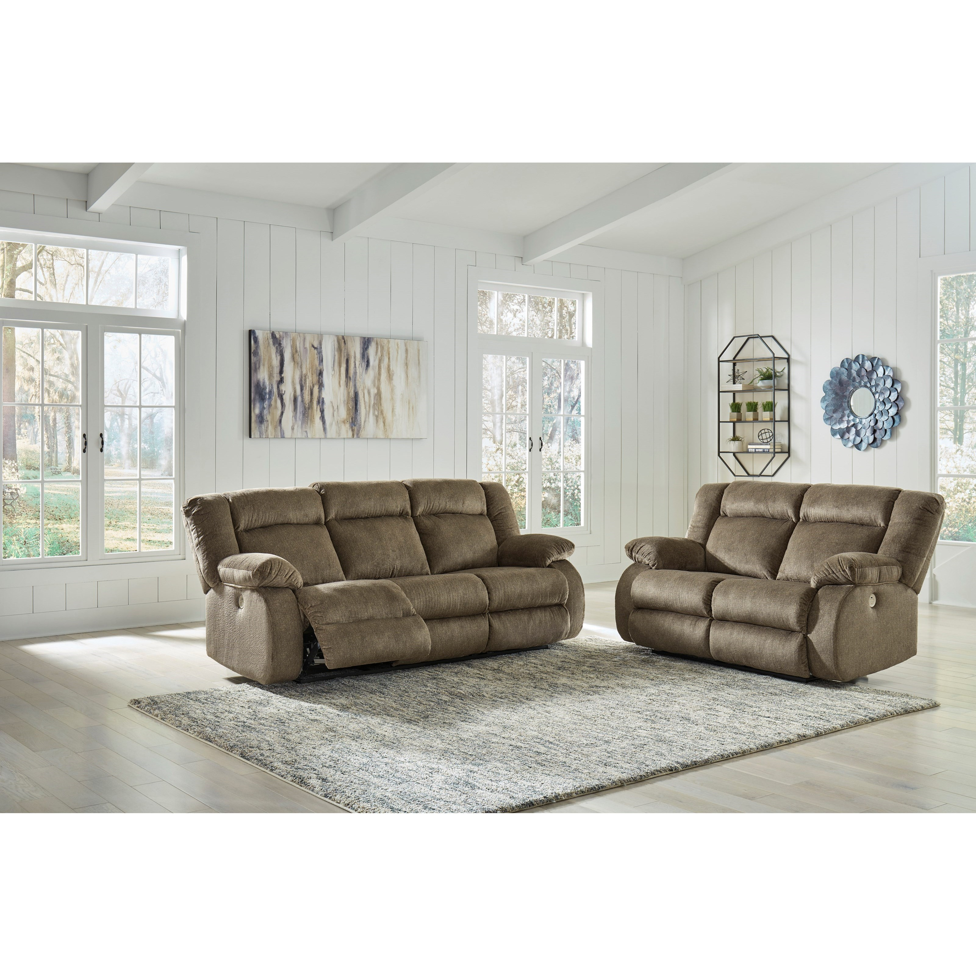 Burkner Power Reclining Living Room Group by Ashley (Signature Design) at Johnny Janosik
