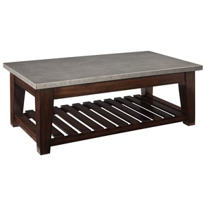 Casual Lift Top Cocktail Table