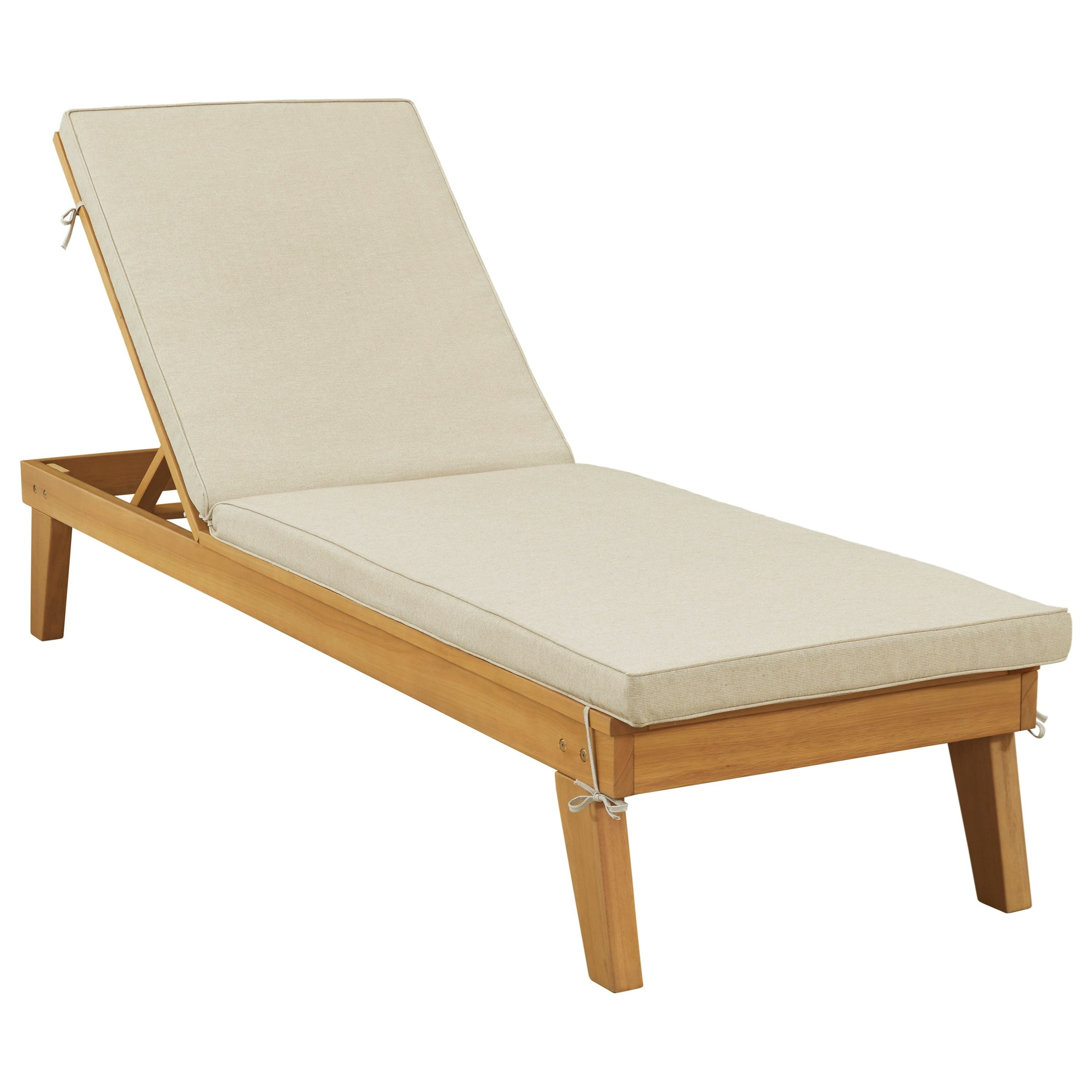 Byron Bay Chaise Lounge with Cushion by Signature at Walker's Furniture