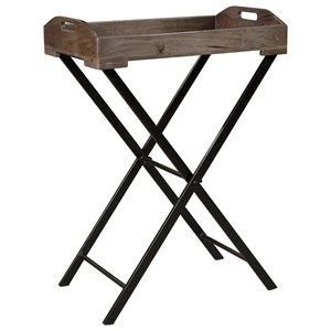 Serving Tray Accent Table