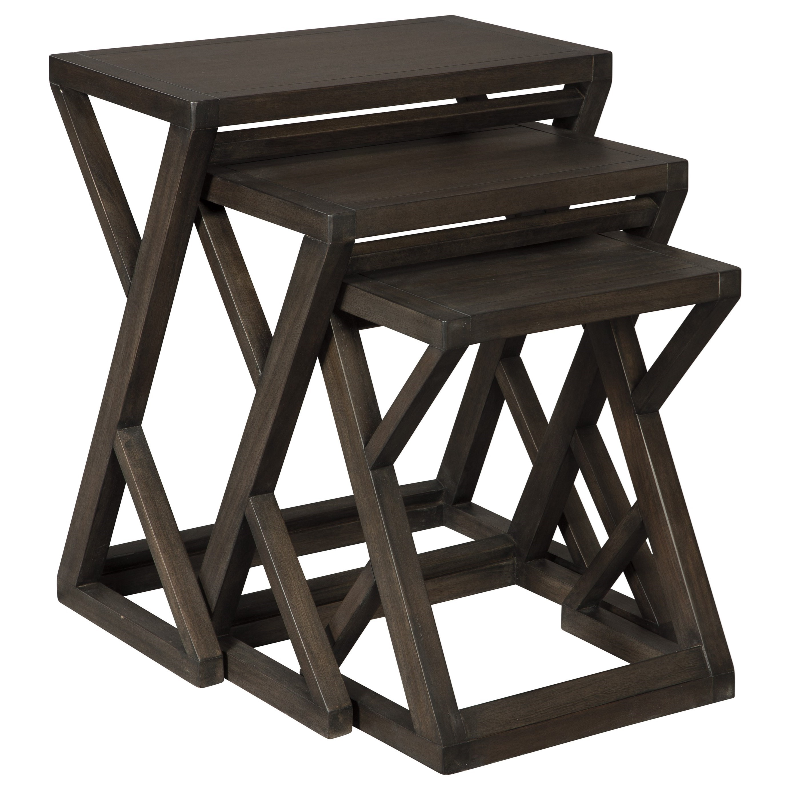 Cairnburg Accent Table (Set of 3) by Signature at Walker's Furniture