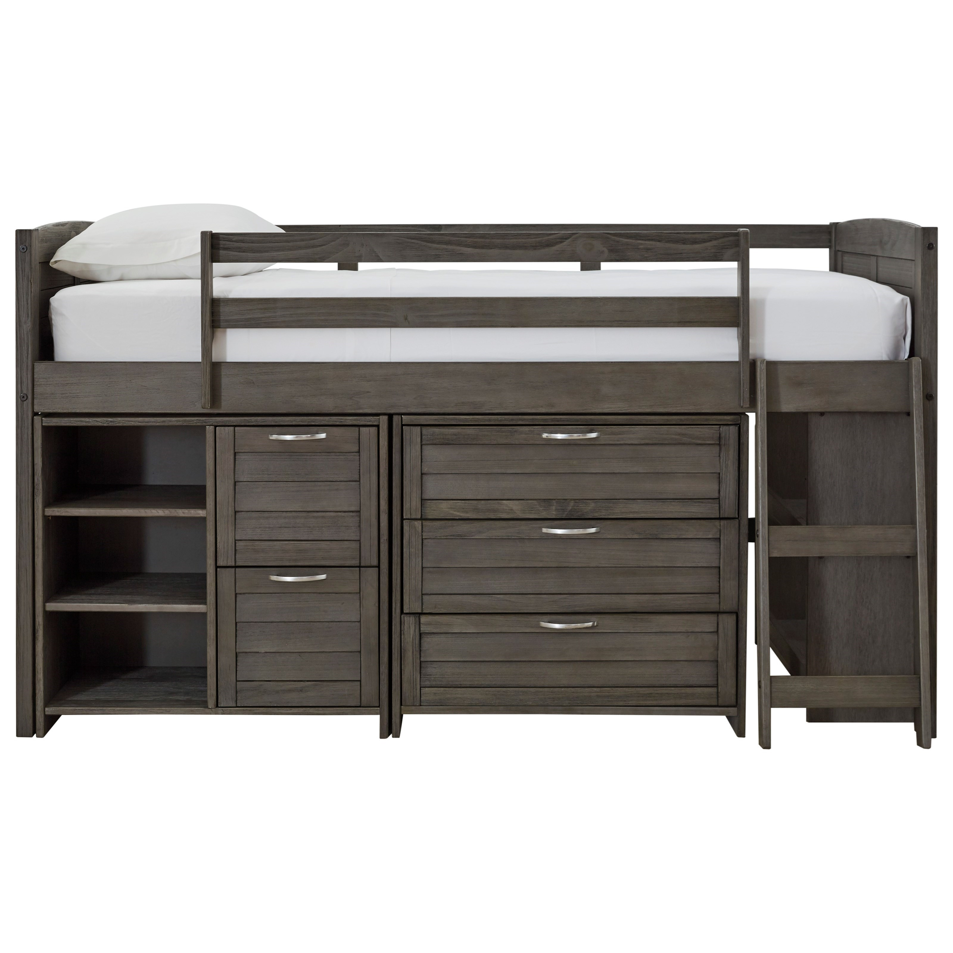 Caitbrook Twin Loft Bed by Signature Design by Ashley at HomeWorld Furniture